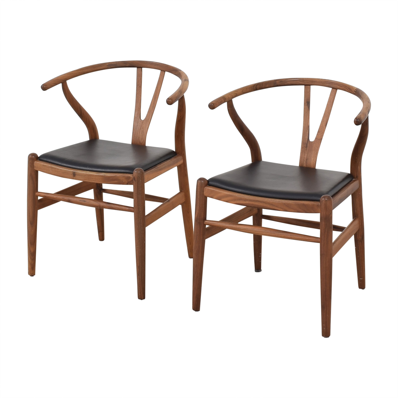 Organic Modernism Organic Modernism Wish Dining Chair black & brown