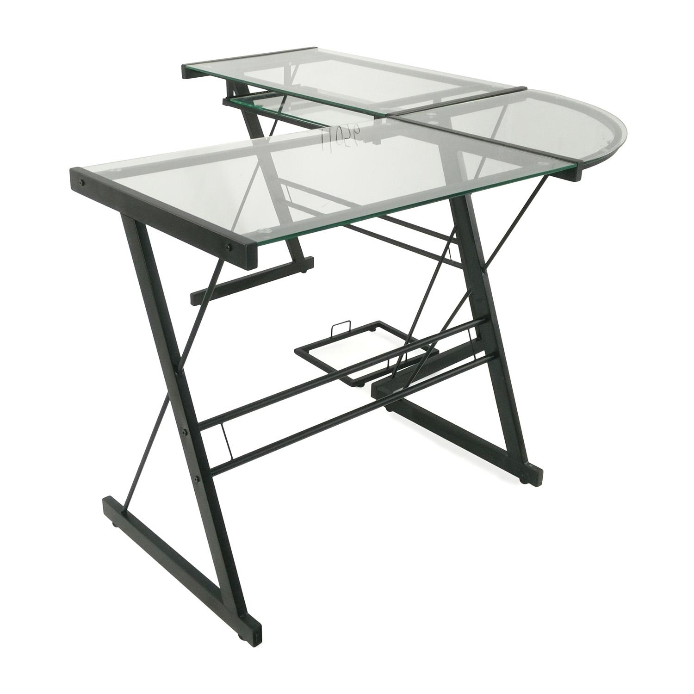 43% OFF - Target Target L-Shaped Computer Desk / Tables