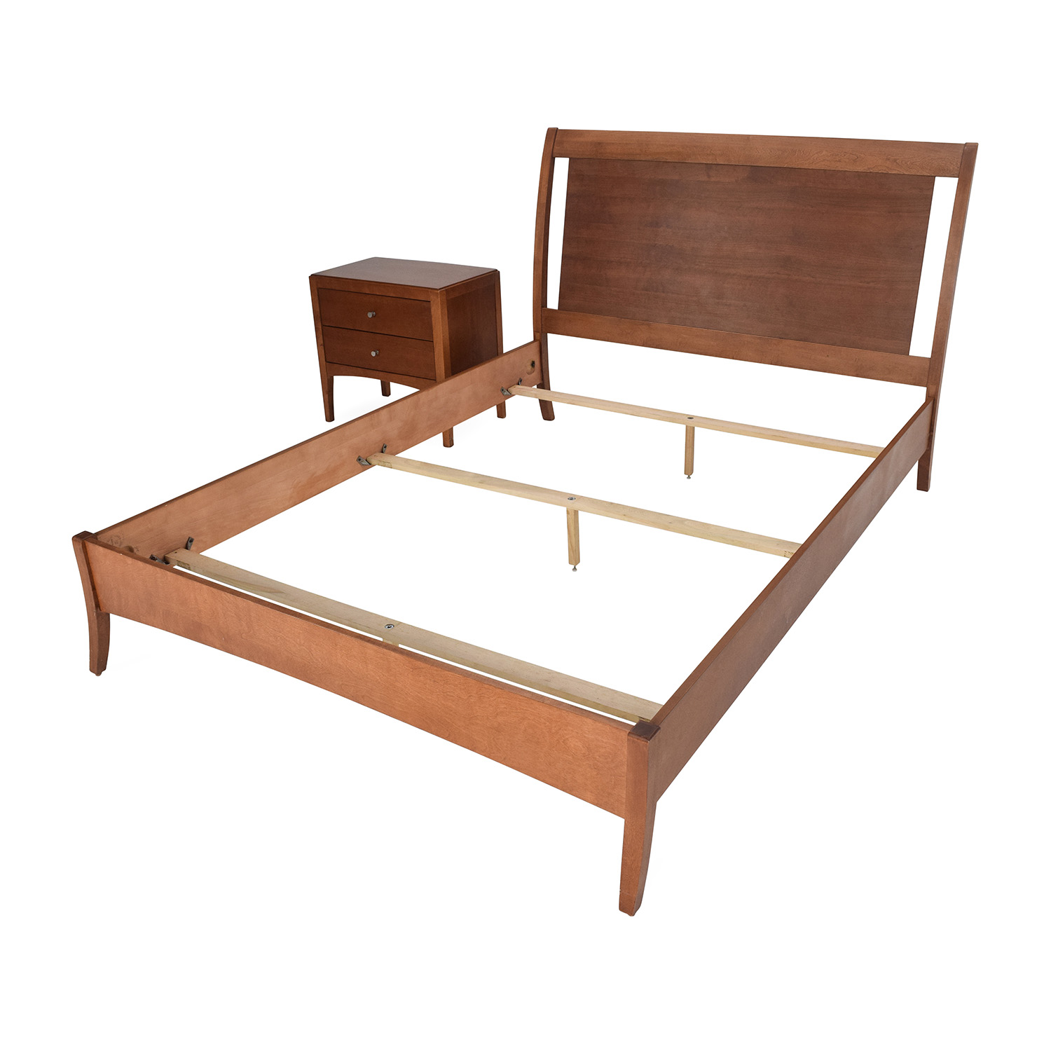 72 off macys macy s bed frame and matching side table 10236 | buy macy s bed frame and matching side table