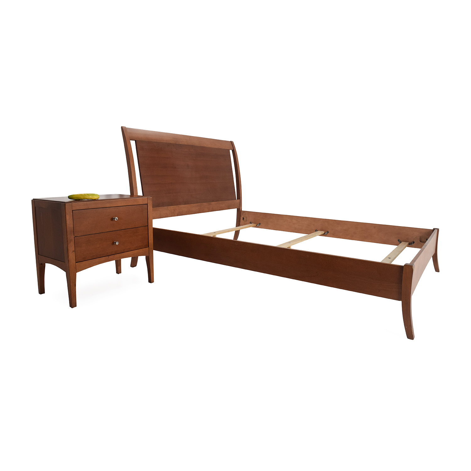 macys bed frame and matching side table bed frames