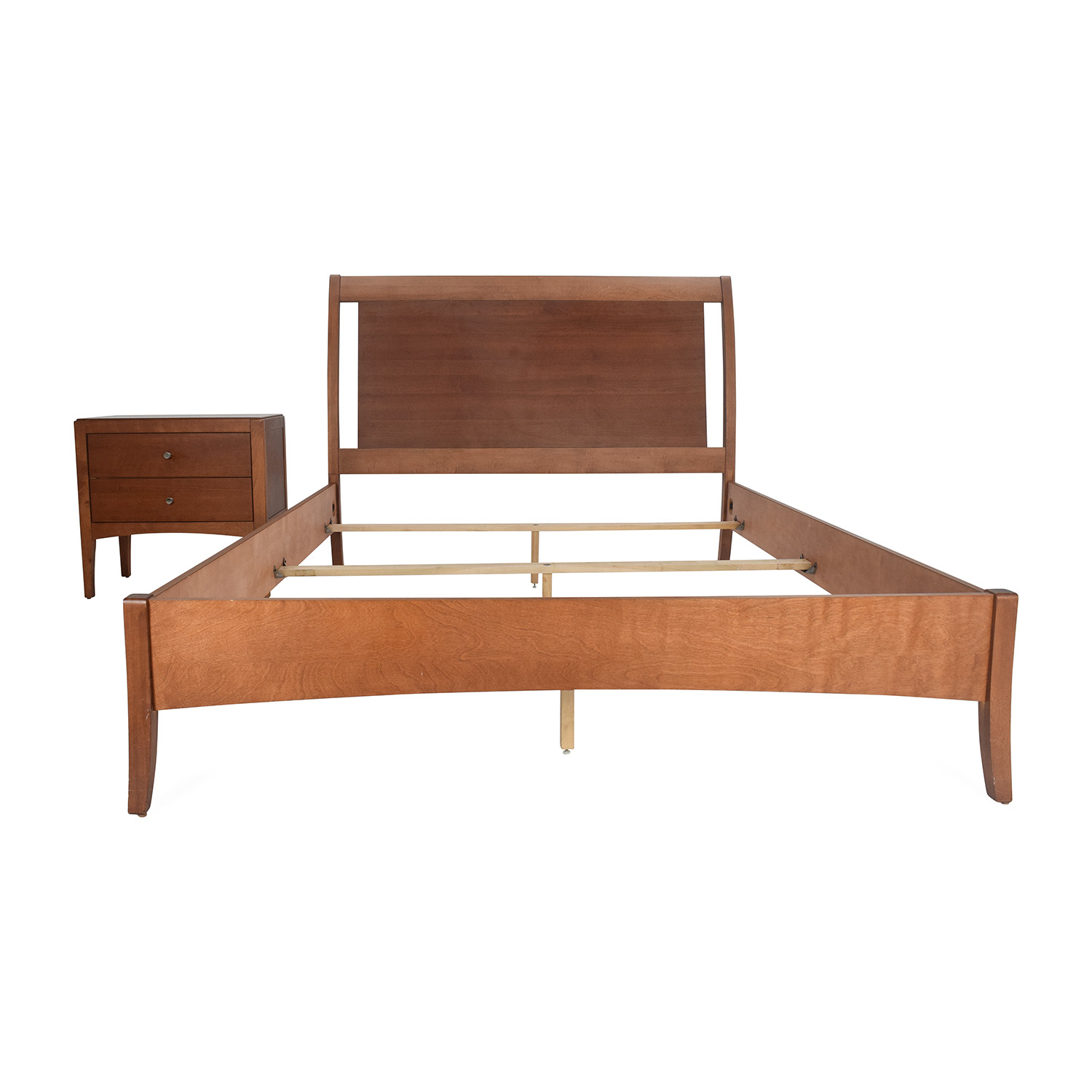 72 Off Macys Macy S Bed Frame And Matching Side Table