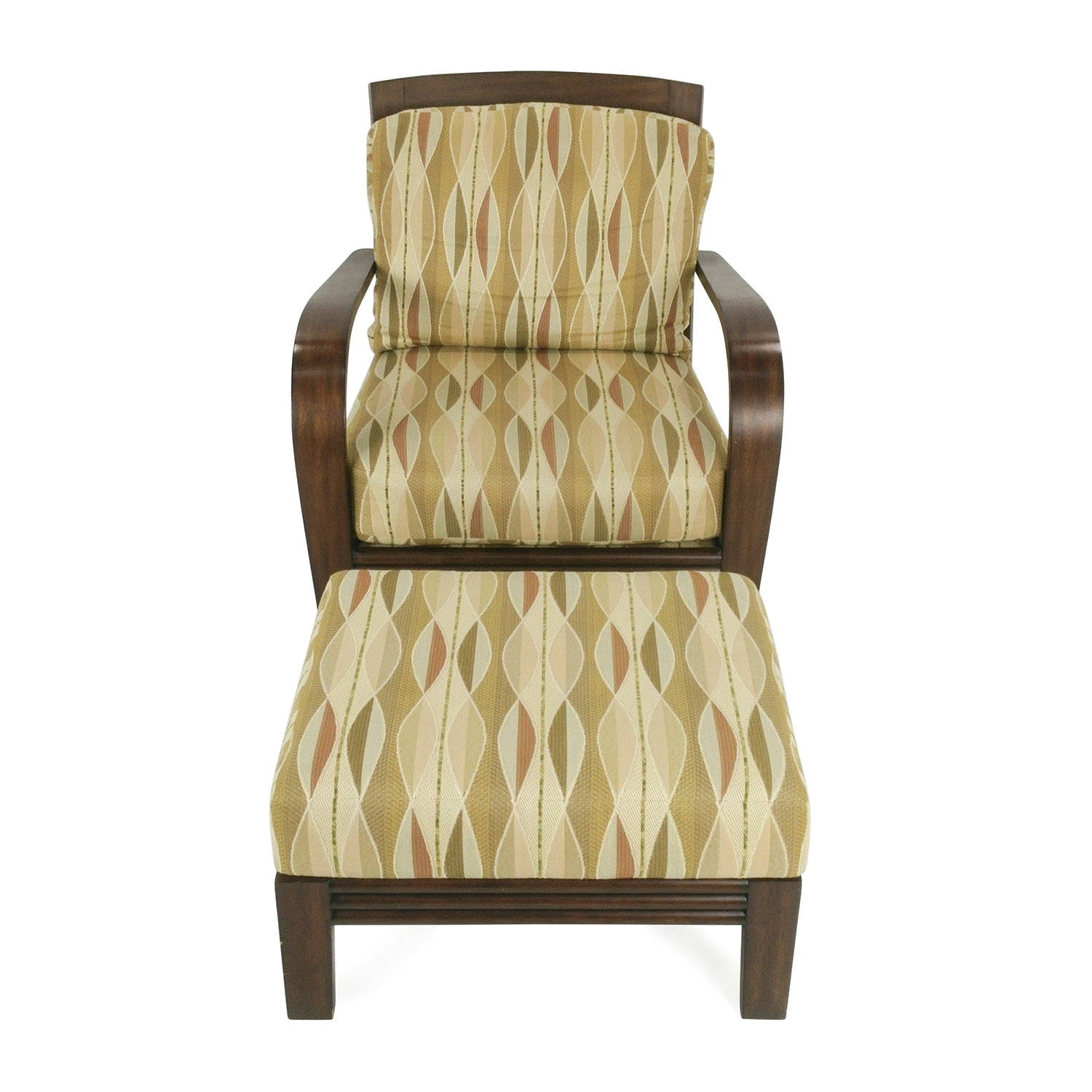 shop Ethan Allen Lounge Chair and Ottoman Ethan Allen Sofas