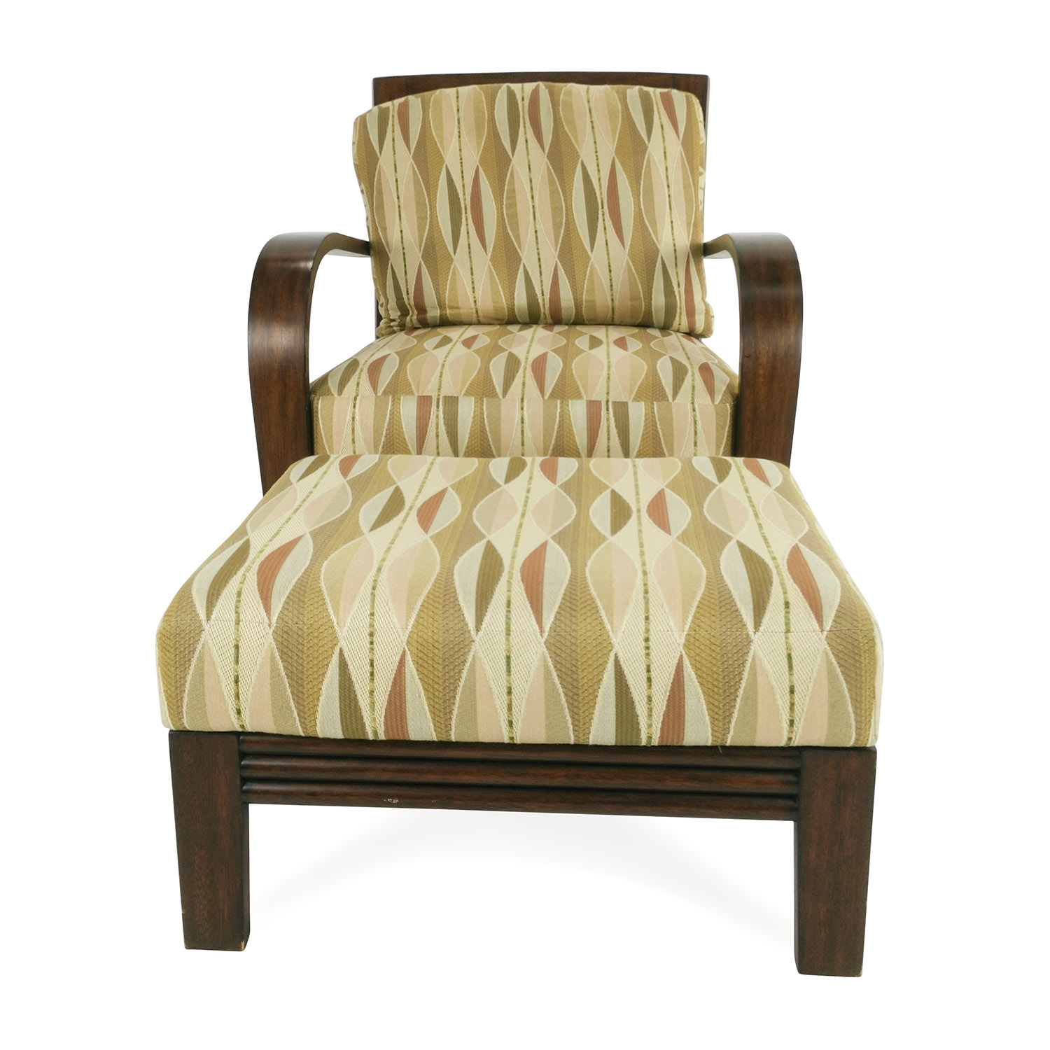 shop Ethan Allen Ethan Allen Lounge Chair and Ottoman online