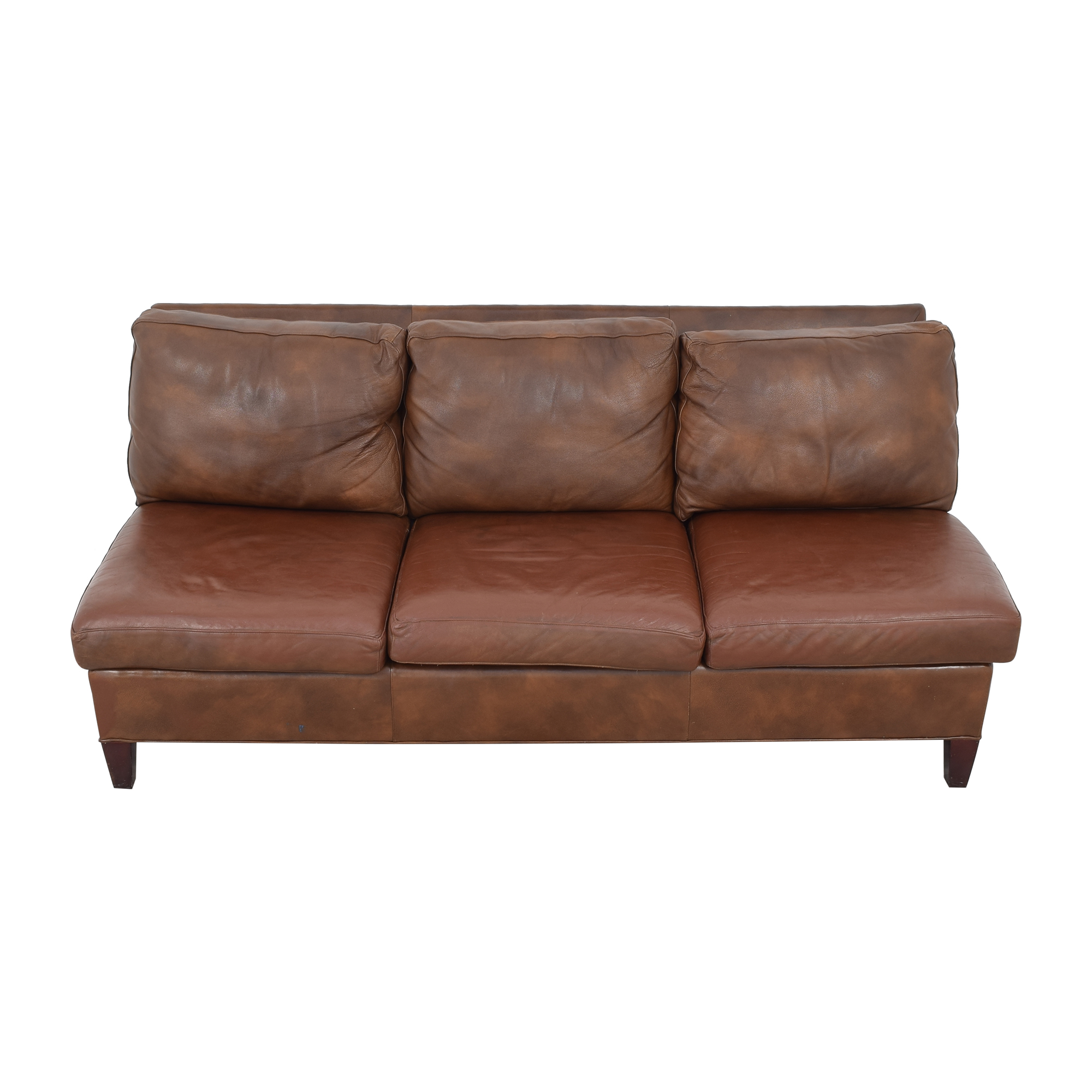McKinley Leather Furniture McKinley Leather Furniture Armless Sofa discount