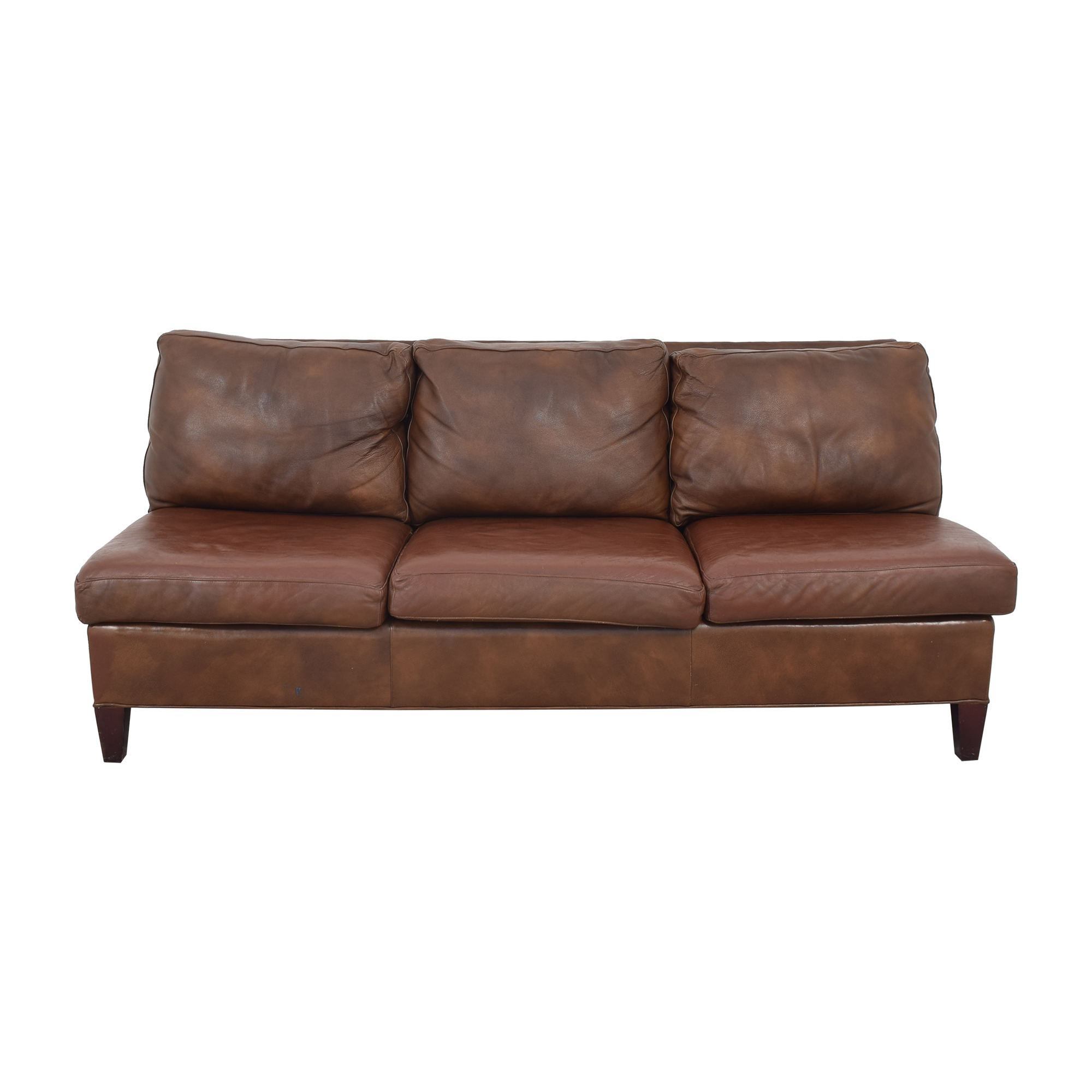 buy McKinley Leather Furniture Armless Sofa McKinley Leather Furniture Classic Sofas