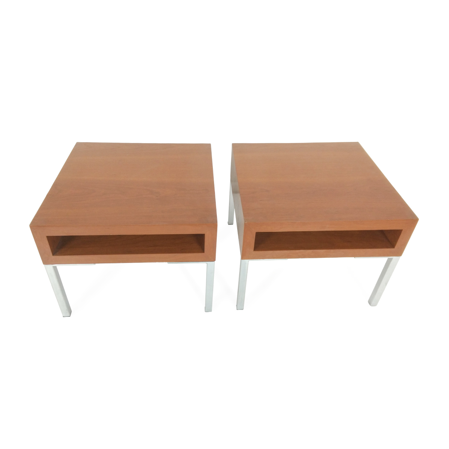 buy Pair Of Designer End Tables Unknown Brand Tables