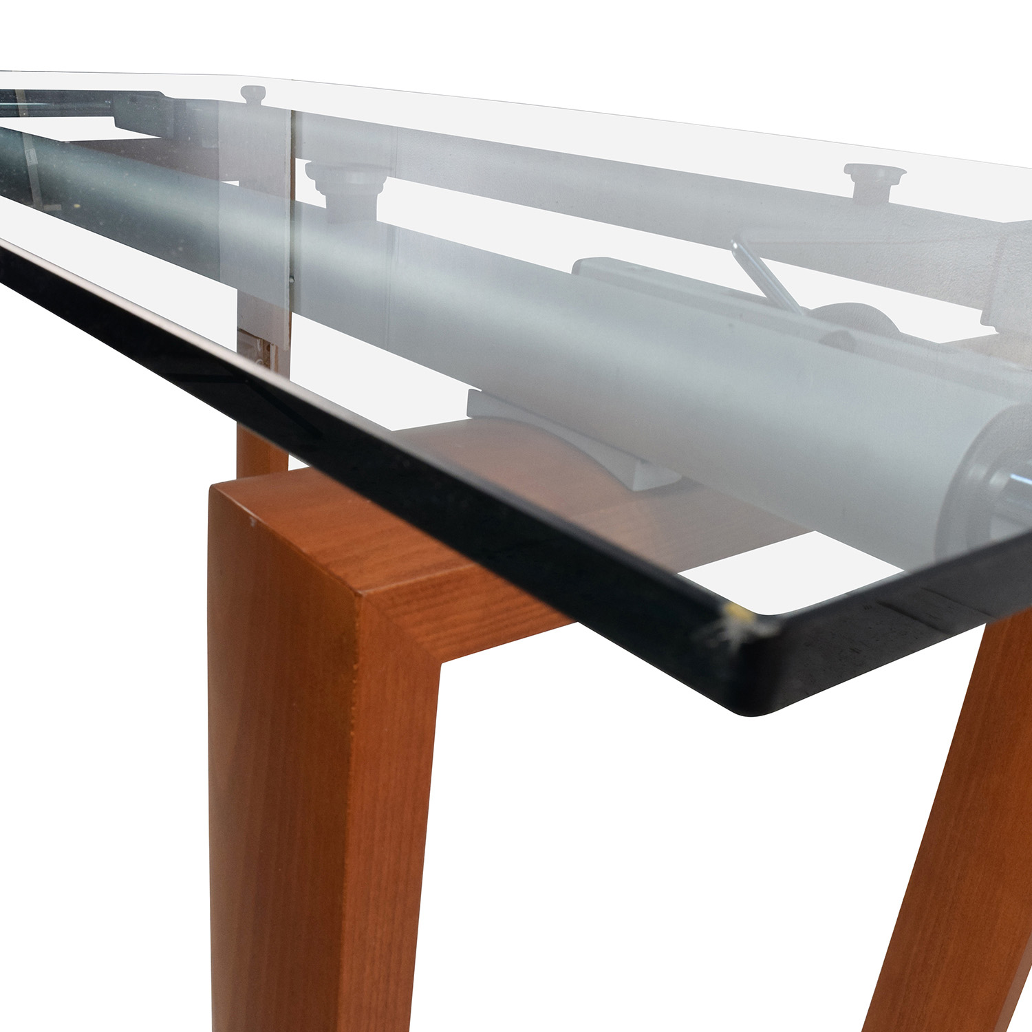 90% OFF Custom Made Glass Dining Table Tables