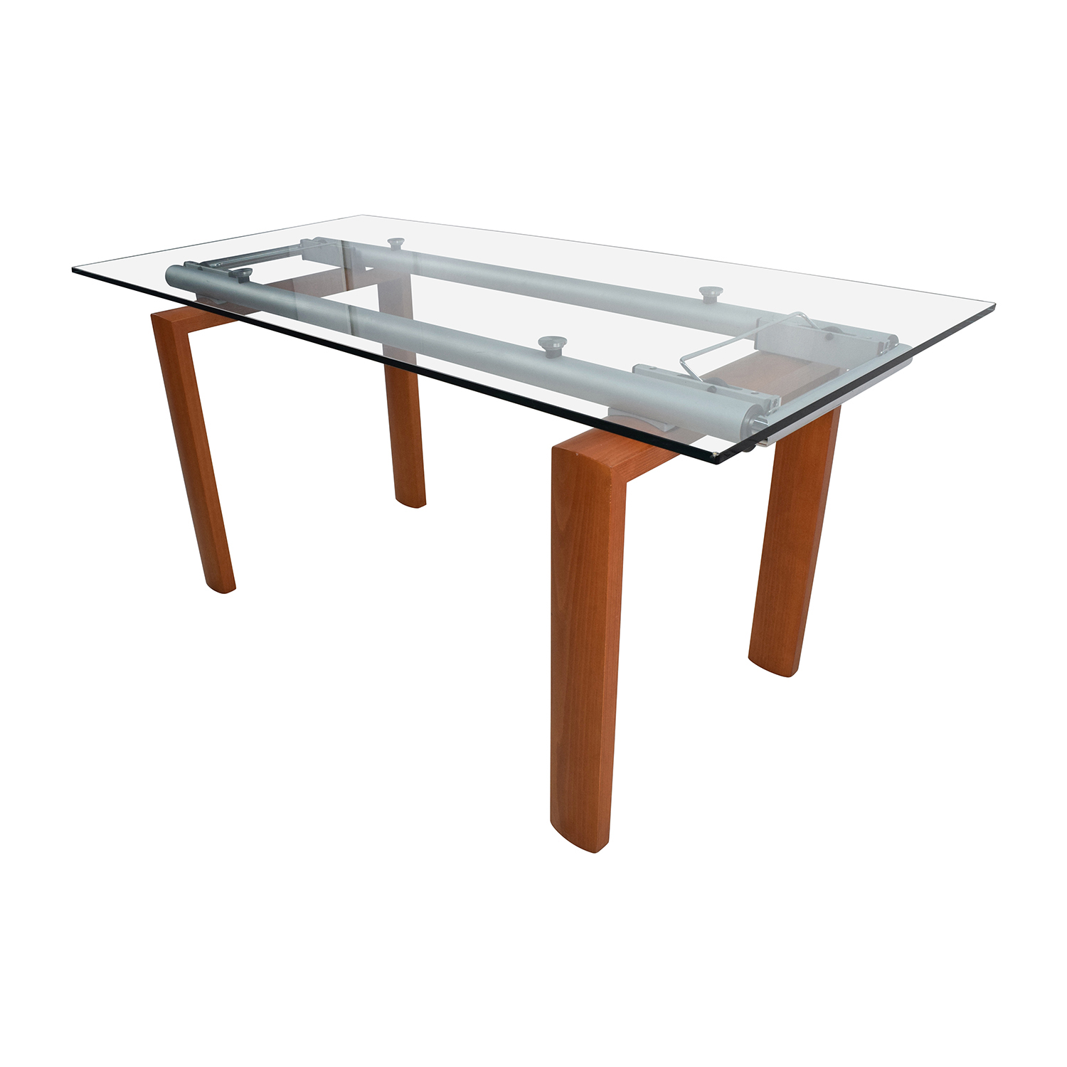90 Off Custom Made Glass Dining Table Tables