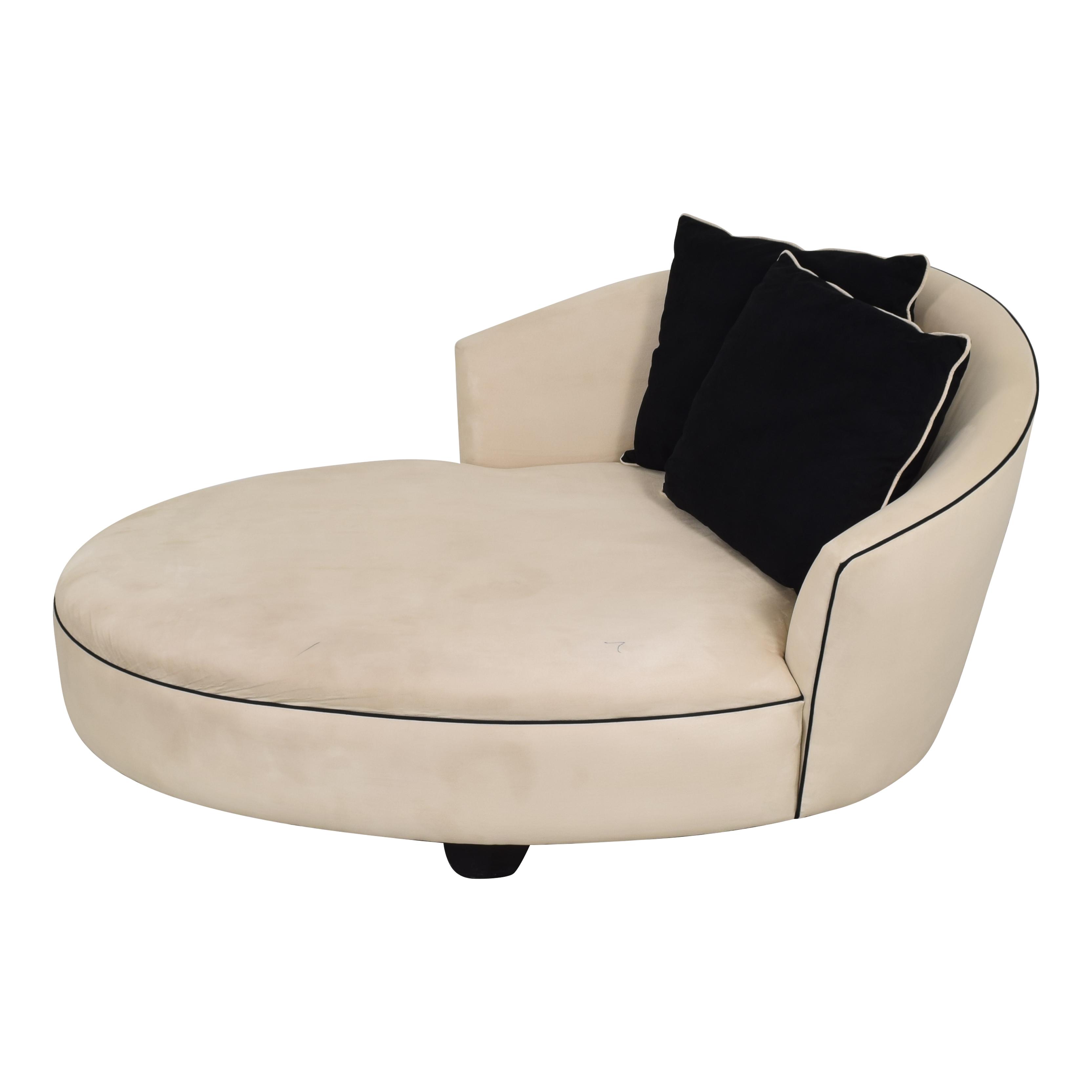 shop Retro Curved Divan  Chaises