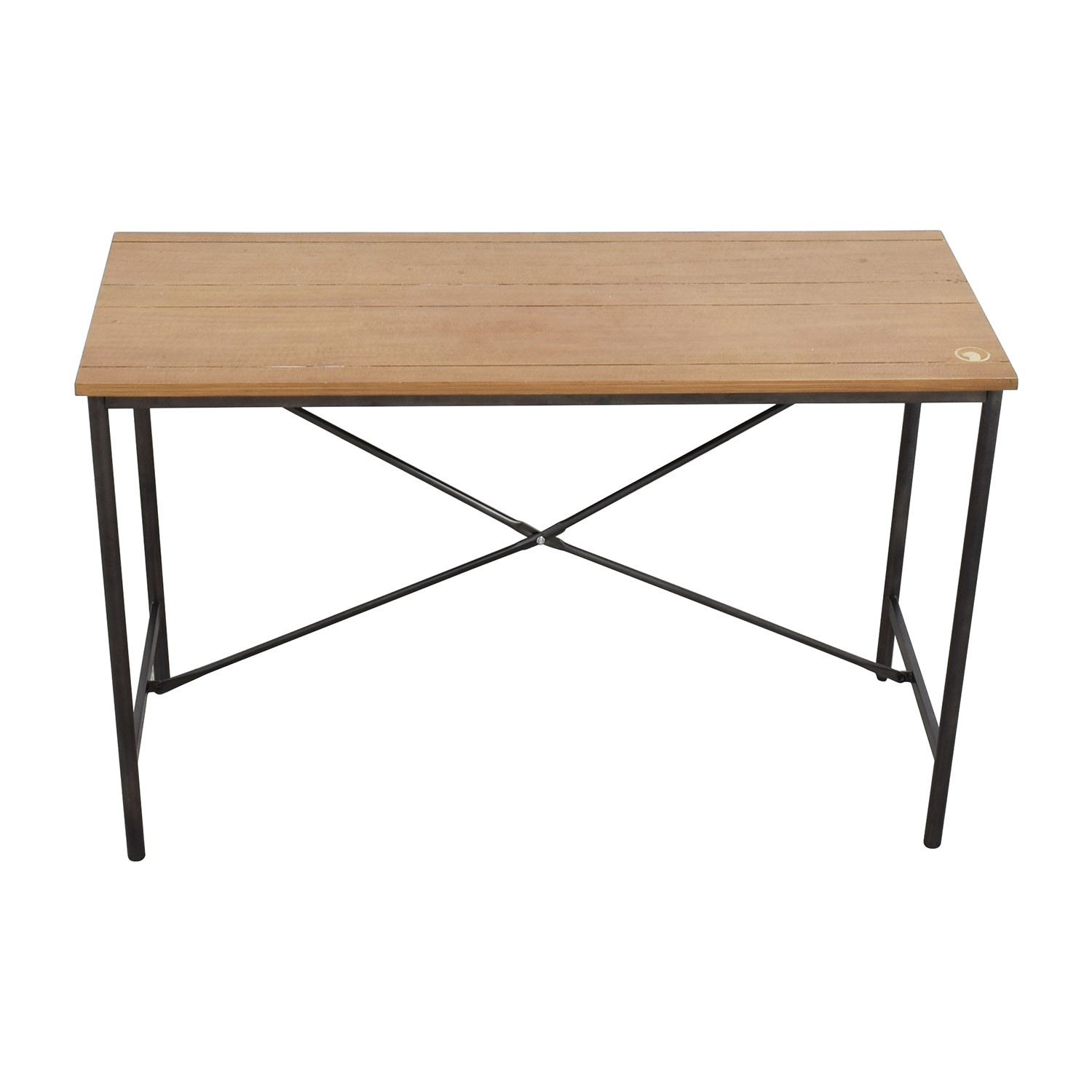 shop Elements Industrial Console Table Elements Accent Tables