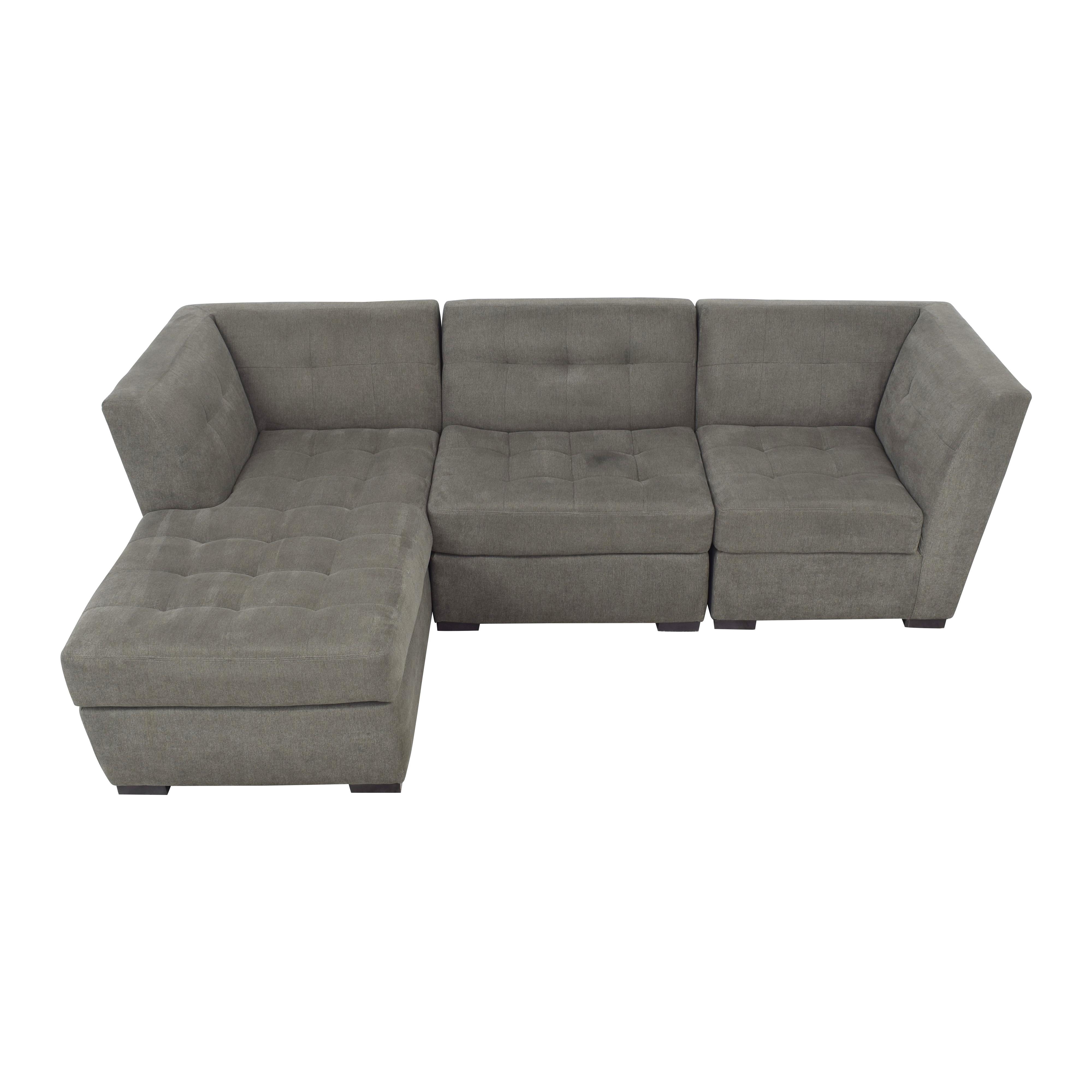 shop Jonathan Louis Jonathan Louis Roxanne II Chaise Sectional Sofa online