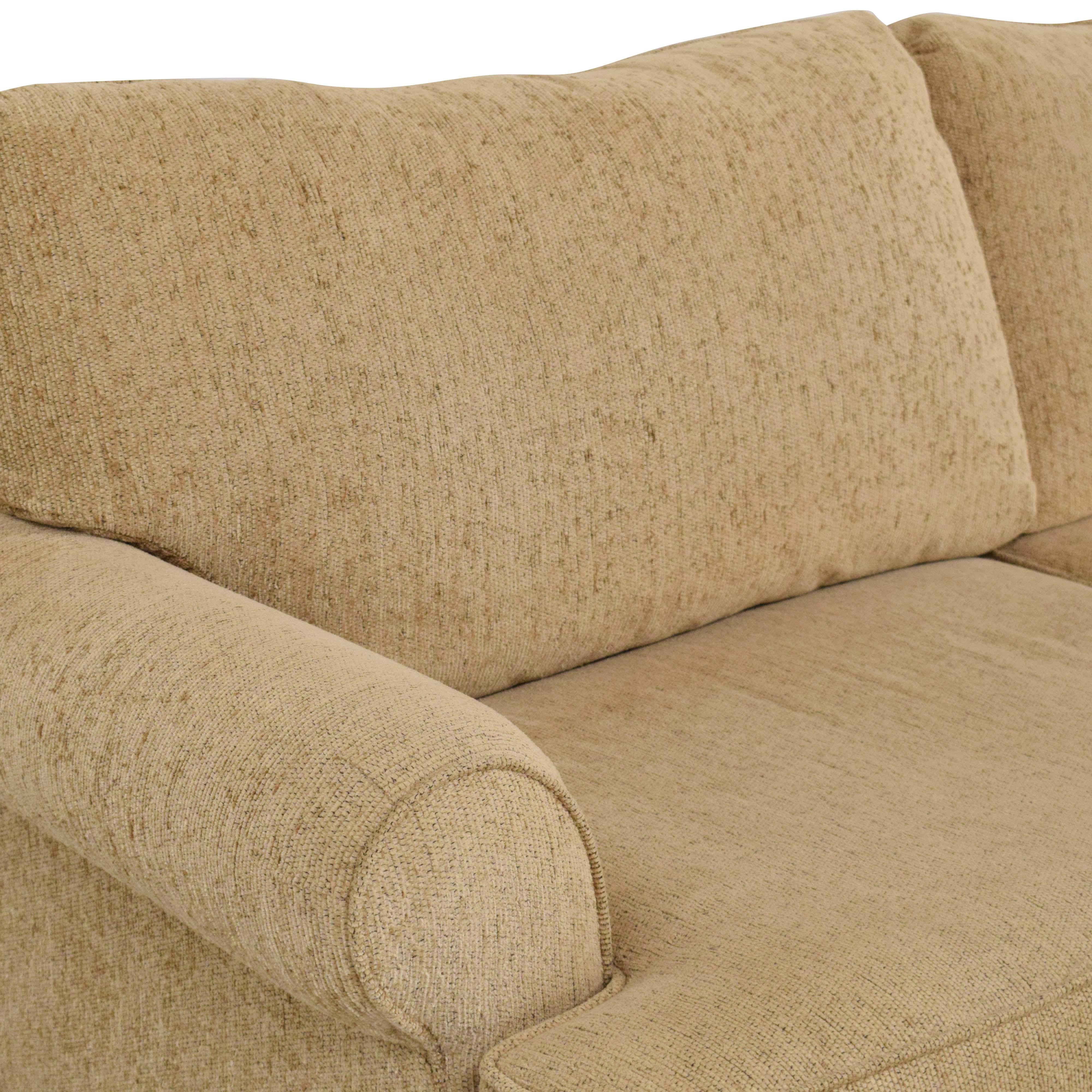 Craftmaster Furniture Craftmaster Furniture Two Cushion Sofa nj