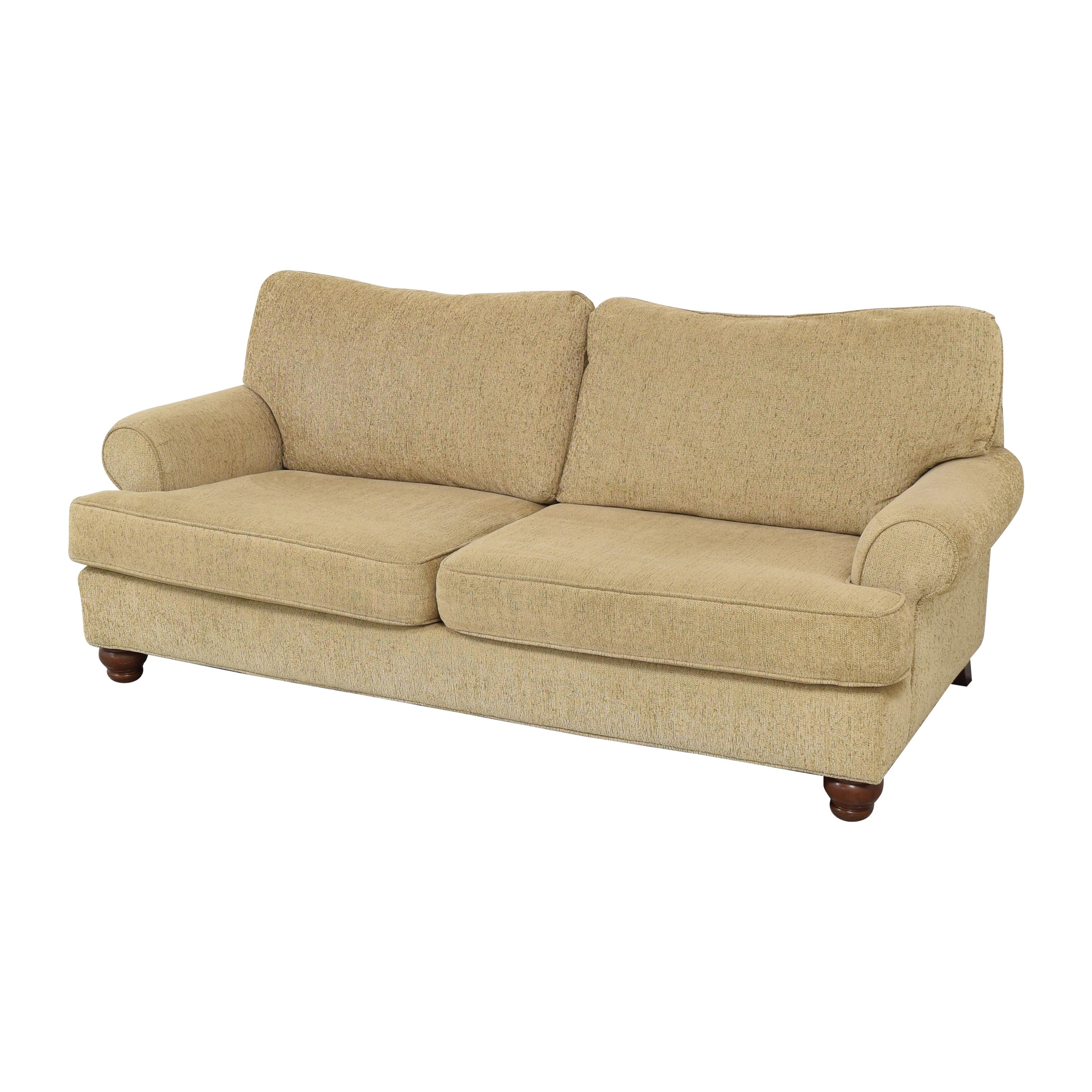Craftmaster Furniture Craftmaster Furniture Two Cushion Sofa ct