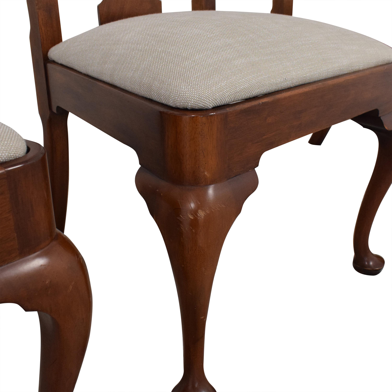 Henkel Harris Henkel Harris Upholstered Dining Chairs discount