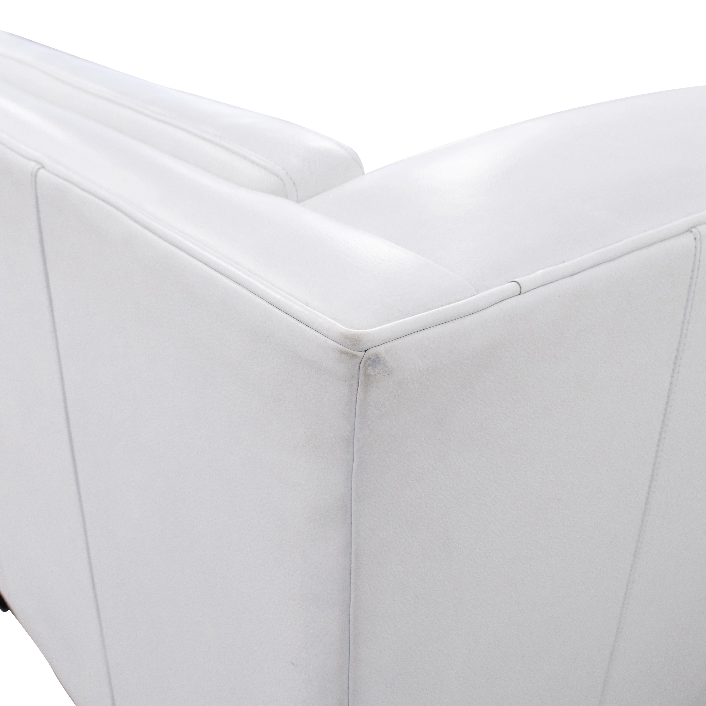 Crate & Barrel Crate & Barrel Aiden Tall Tufted Sofa Classic Sofas