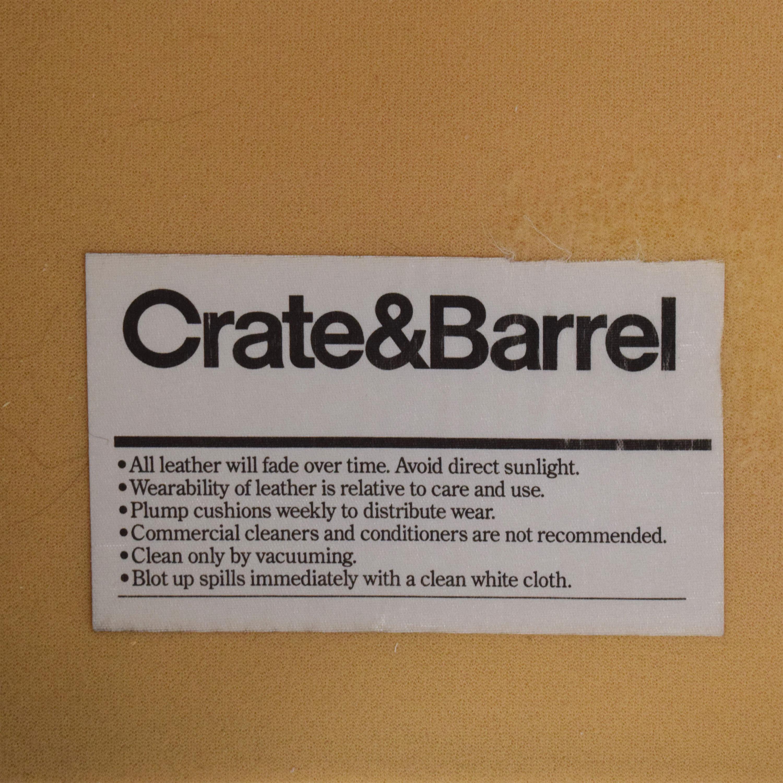 shop Crate & Barrel Aiden Tall Tufted Sofa Crate & Barrel Sofas