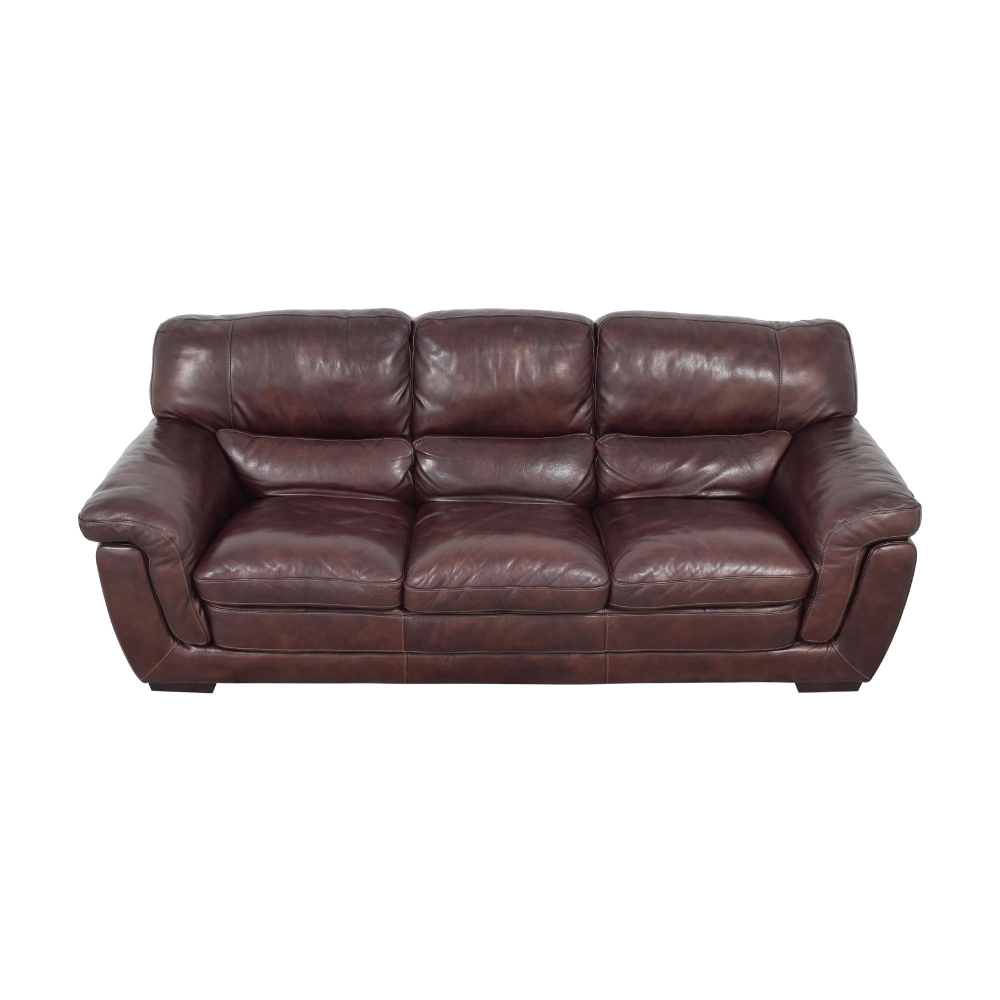 Raymour & Flanigan Pub-Back Sofa / Classic Sofas