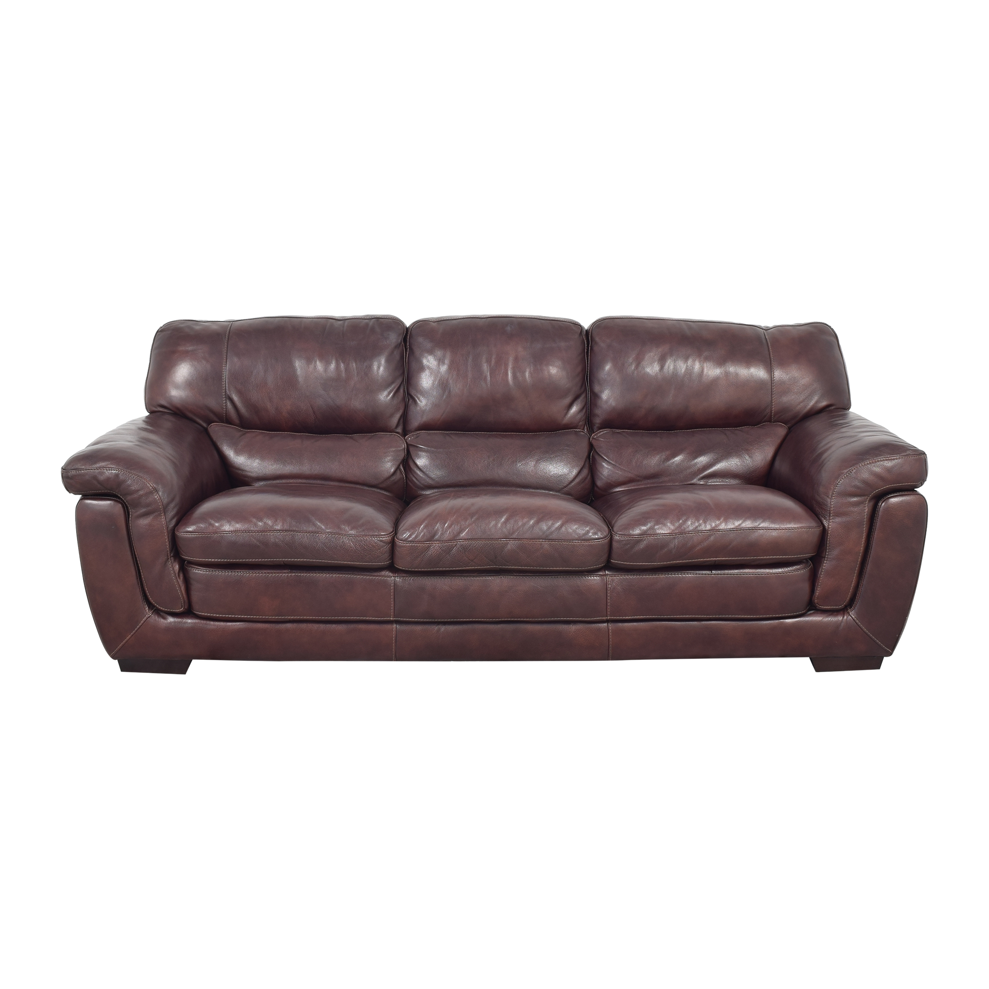 Raymour & Flanigan Raymour & Flanigan Pub-Back Sofa ct