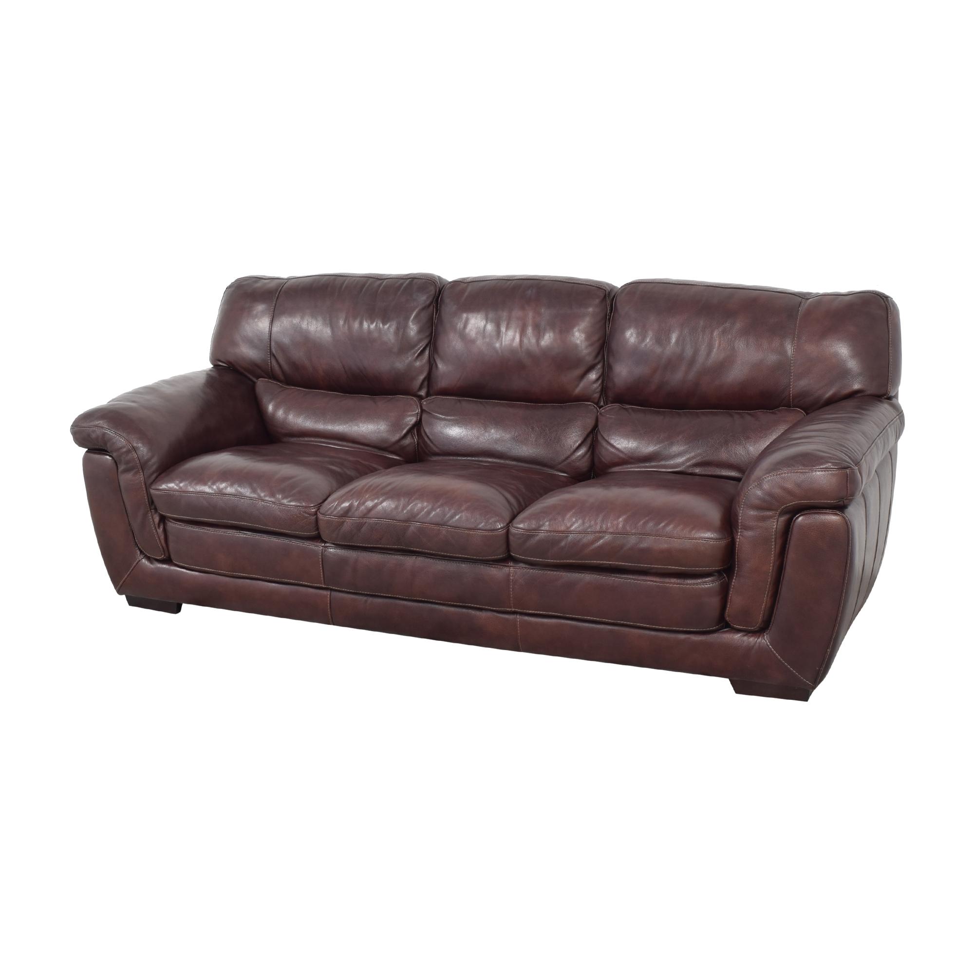 Raymour & Flanigan Raymour & Flanigan Pub-Back Sofa for sale