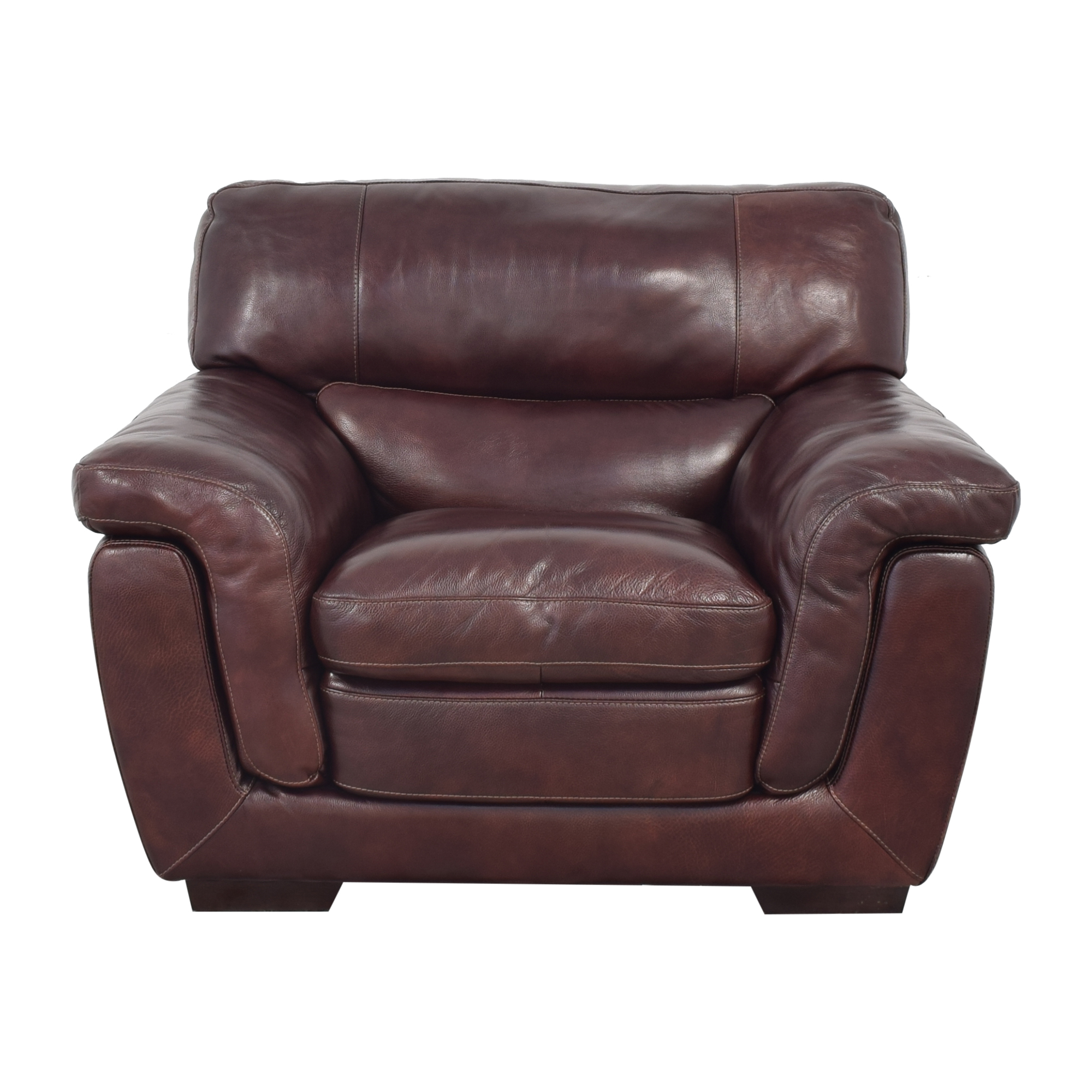 buy Raymour & Flanigan Raymour & Flanigan Lounge Chair and Ottoman online