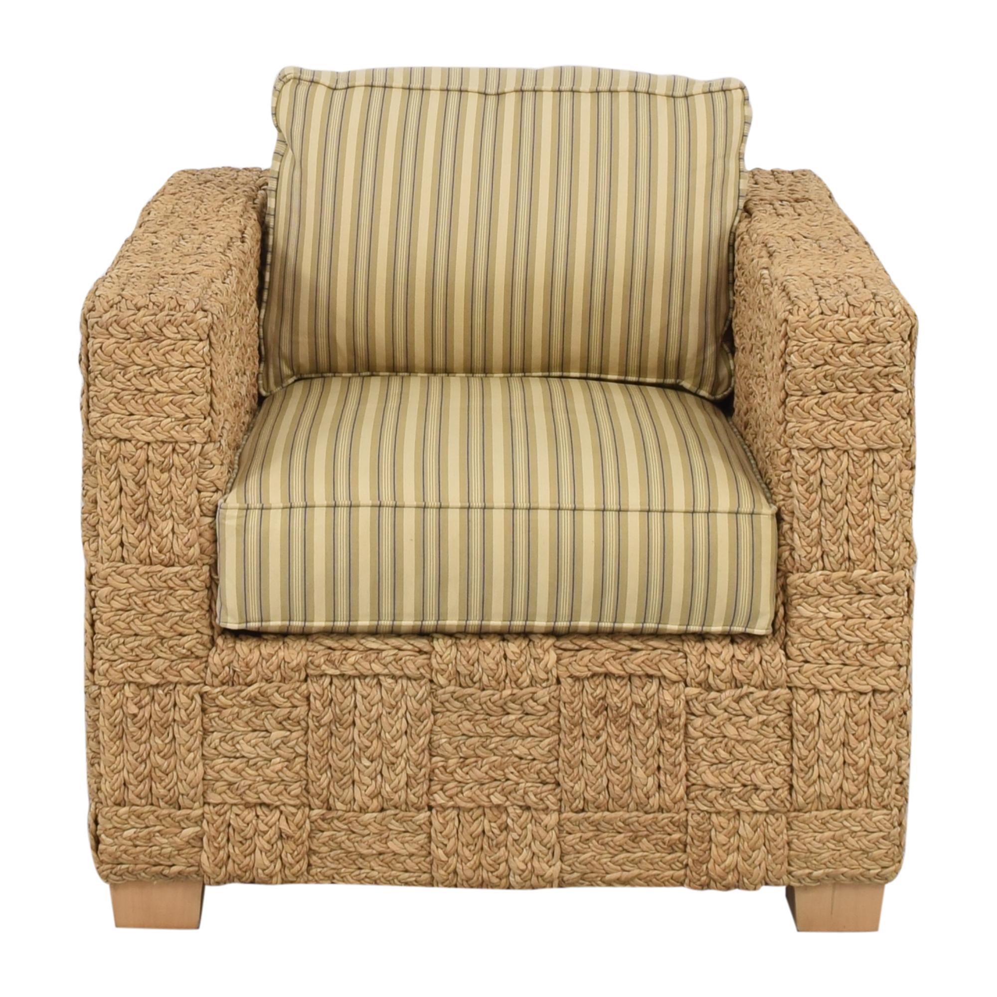 Ralph Lauren Home Ralph Lauren Home Accent Chair with Ottoman ma