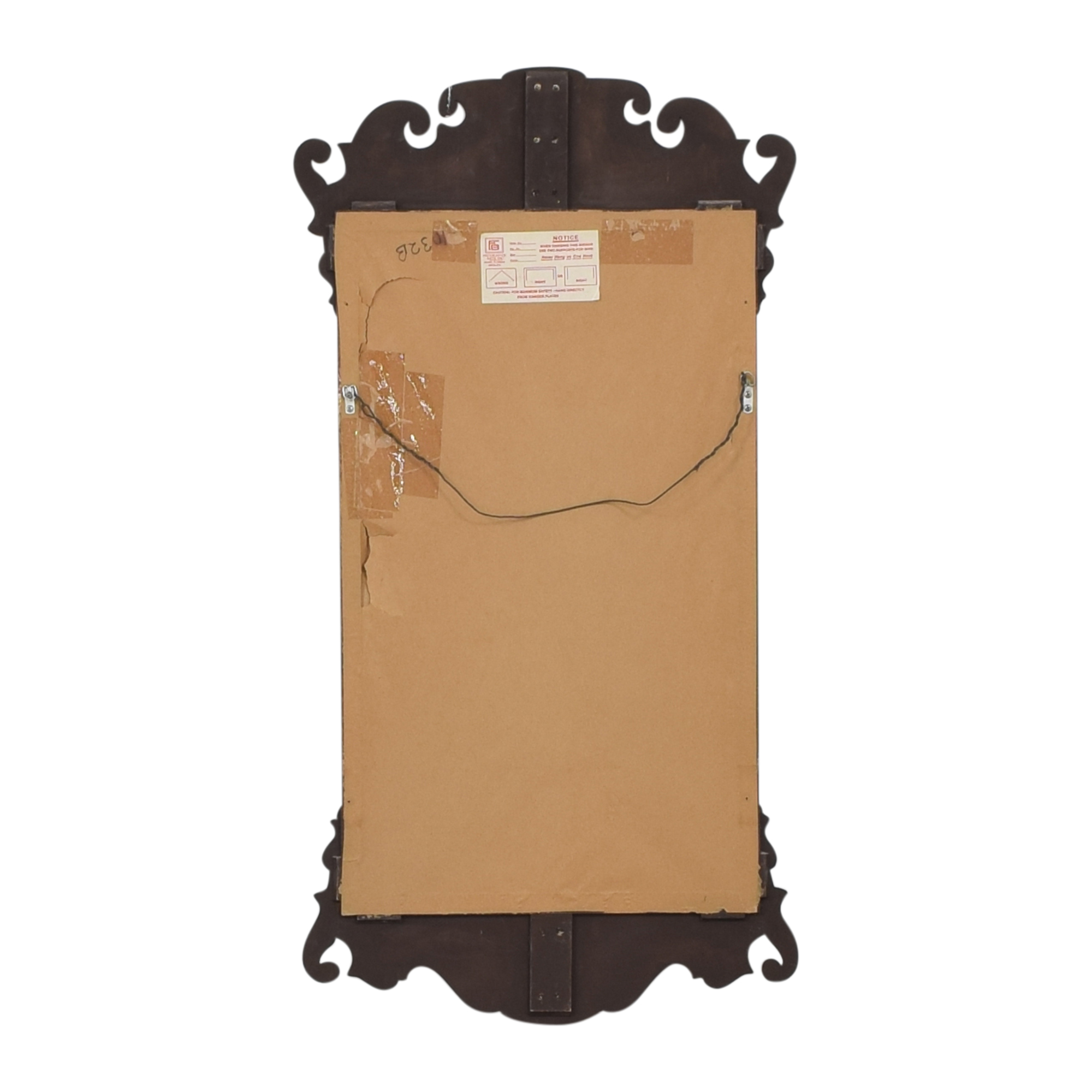 Friedman Brothers Williamsburg Chippendale Wall Mirror / Decor
