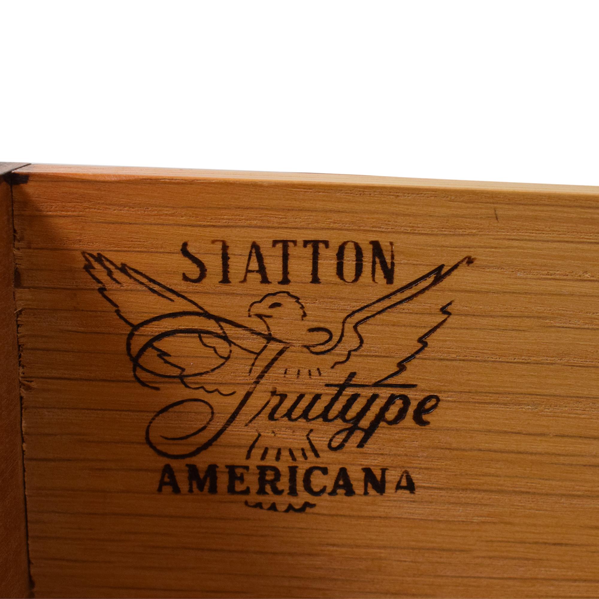 Statton Trutype Americana Desk Statton