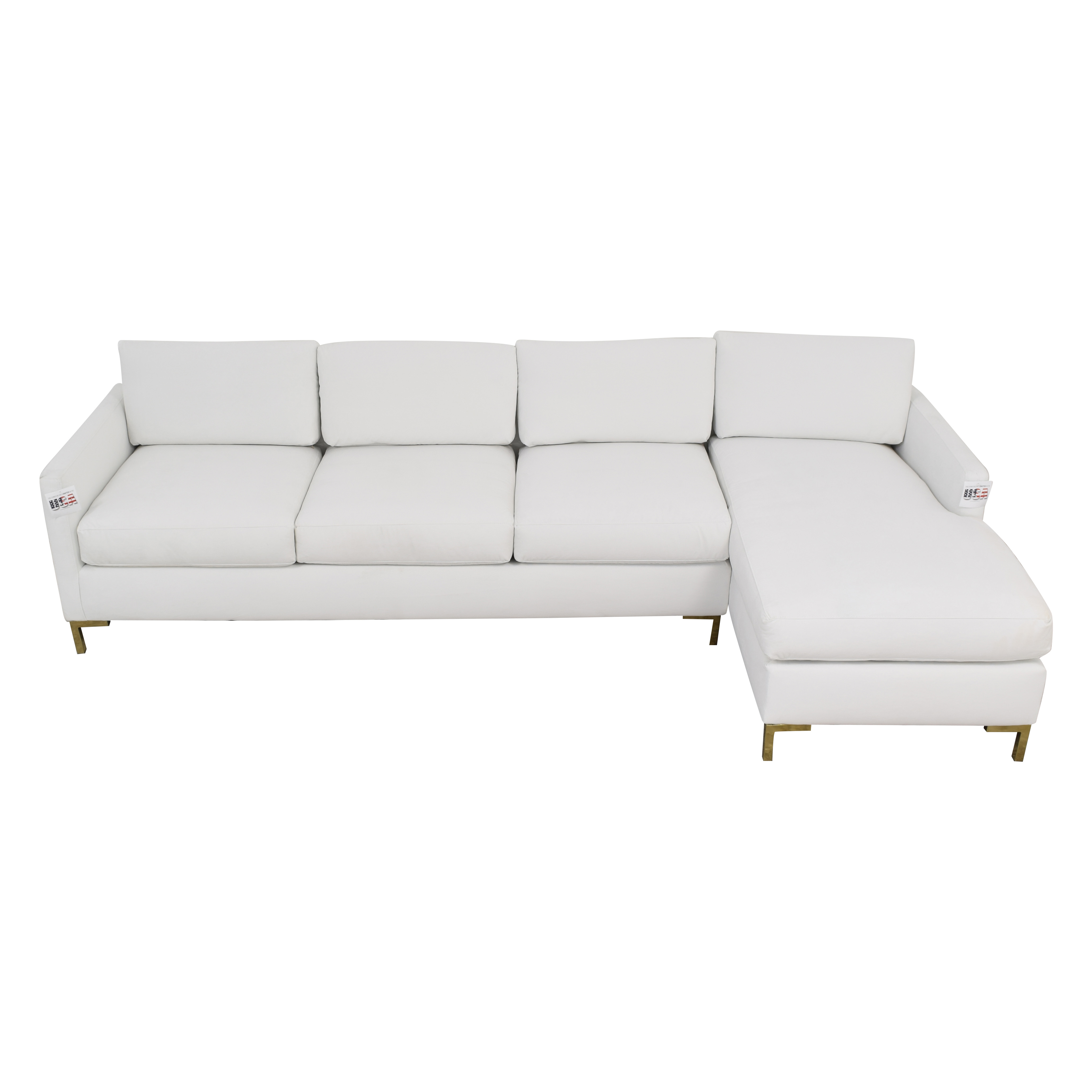 buy The Inside Modern Sectional-Right Facing Sofa The Inside Sectionals