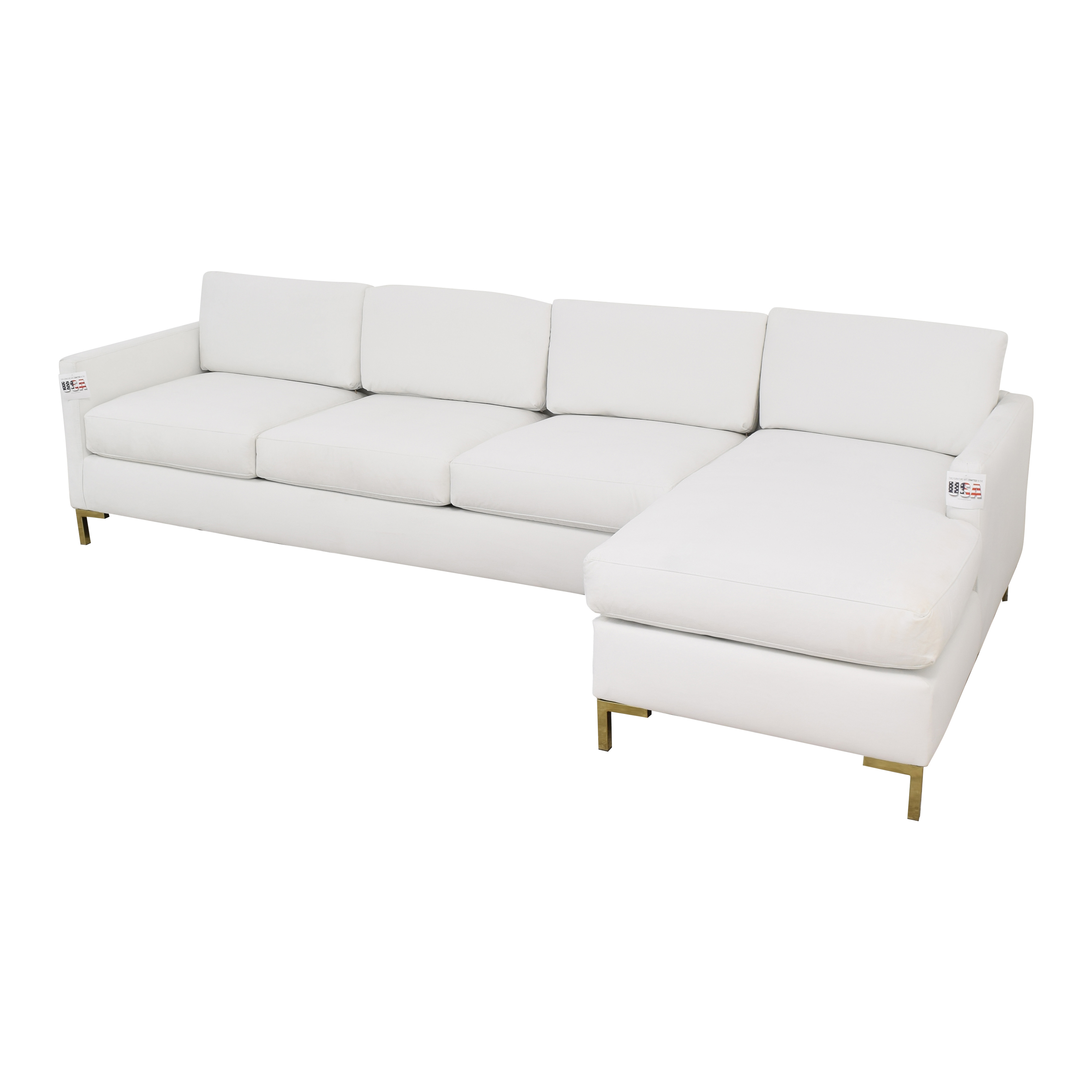 The Inside The Inside Modern Sectional-Right Facing Sofa nyc