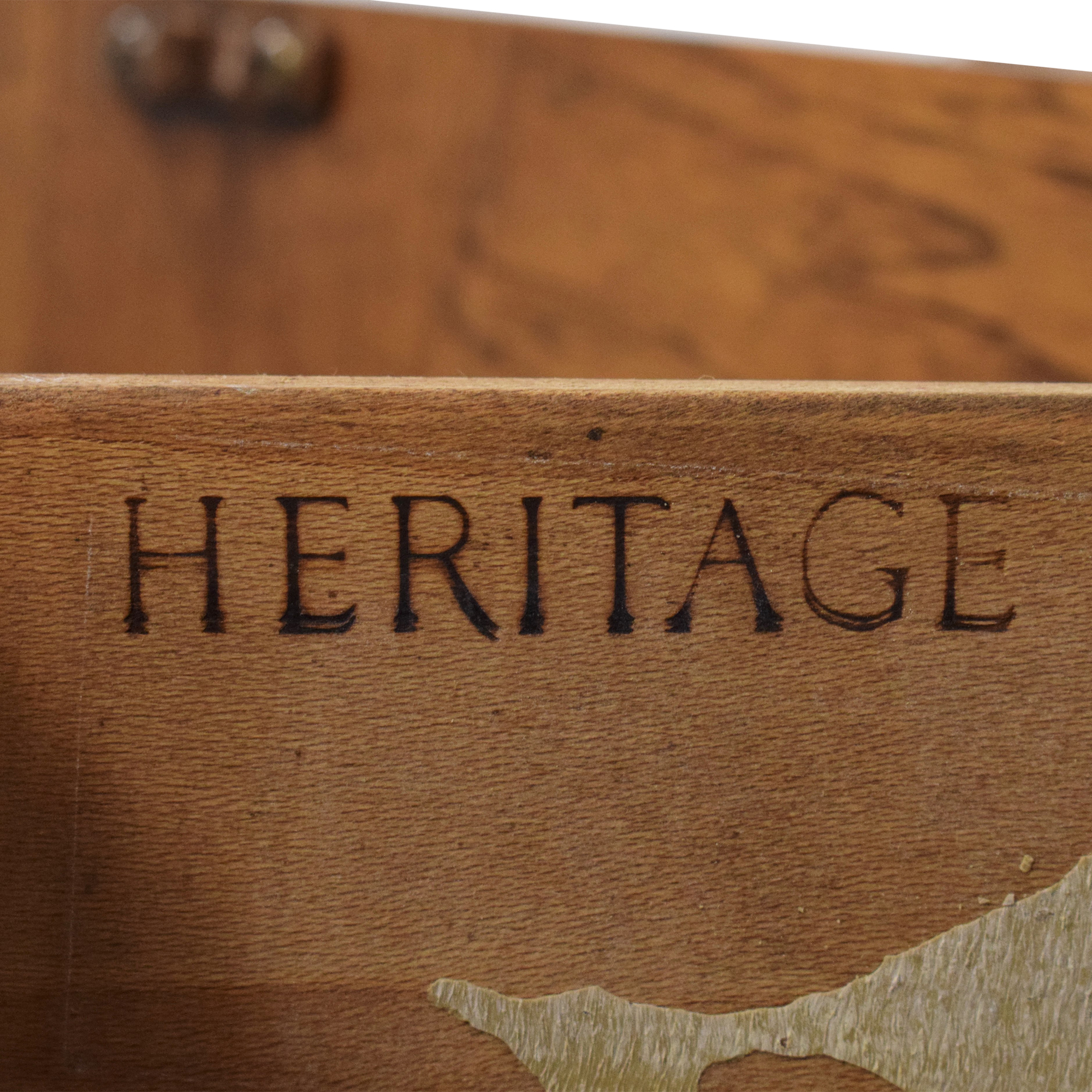 Heritage Heritage Extending Bar Cabinet second hand
