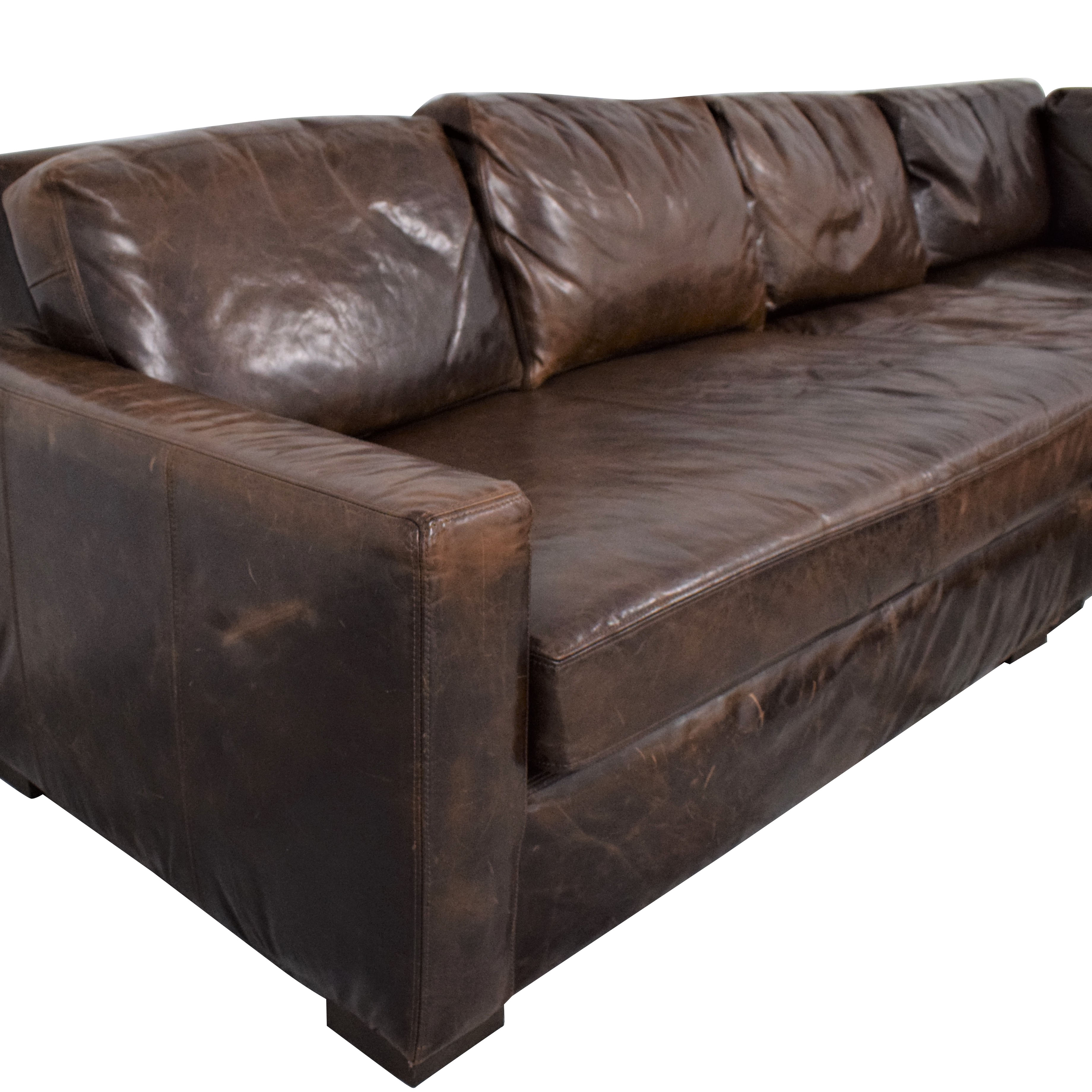 Restoration Hardware Restoration Hardware Petite Maxwell Sectional for sale