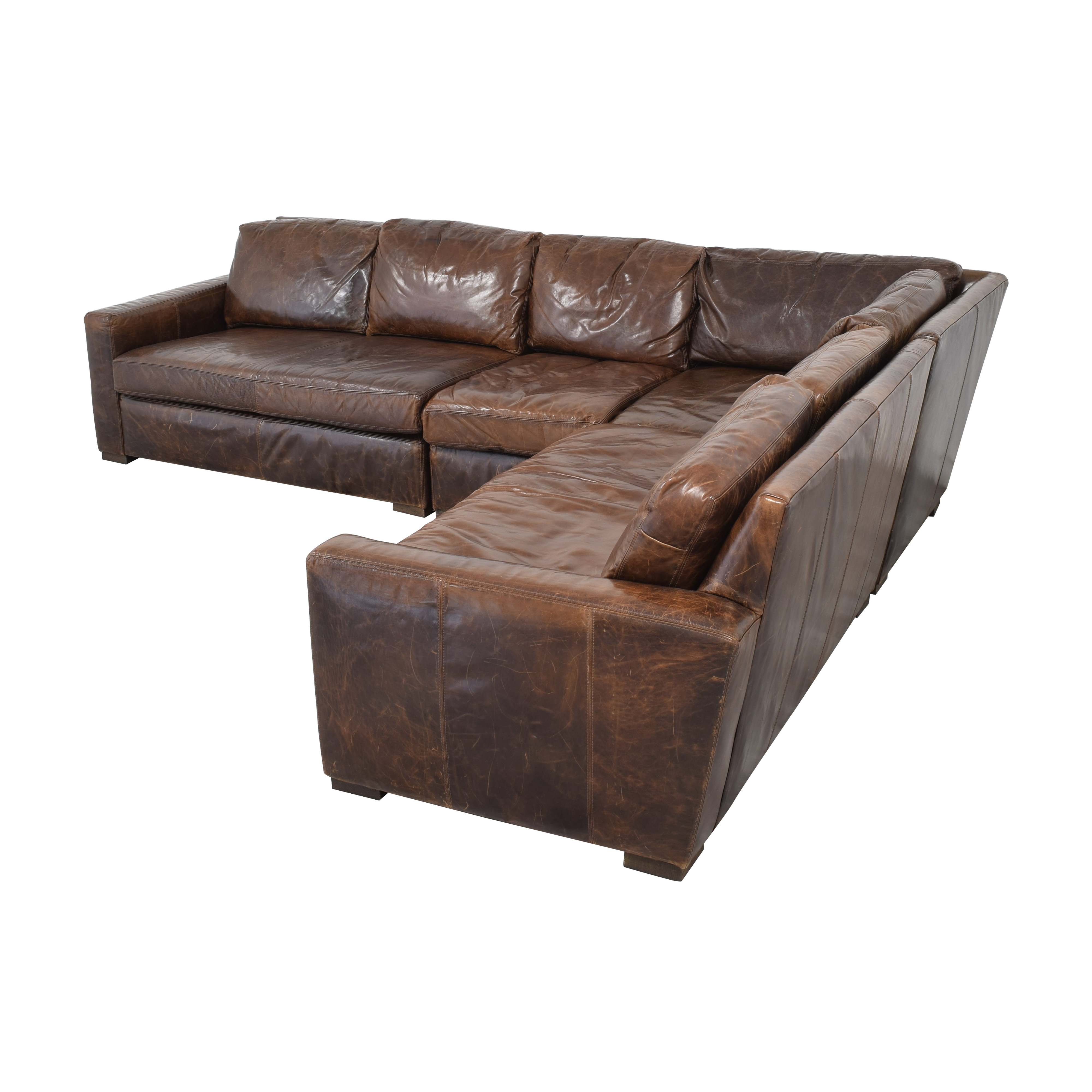 Restoration Hardware Petite Maxwell Sectional sale