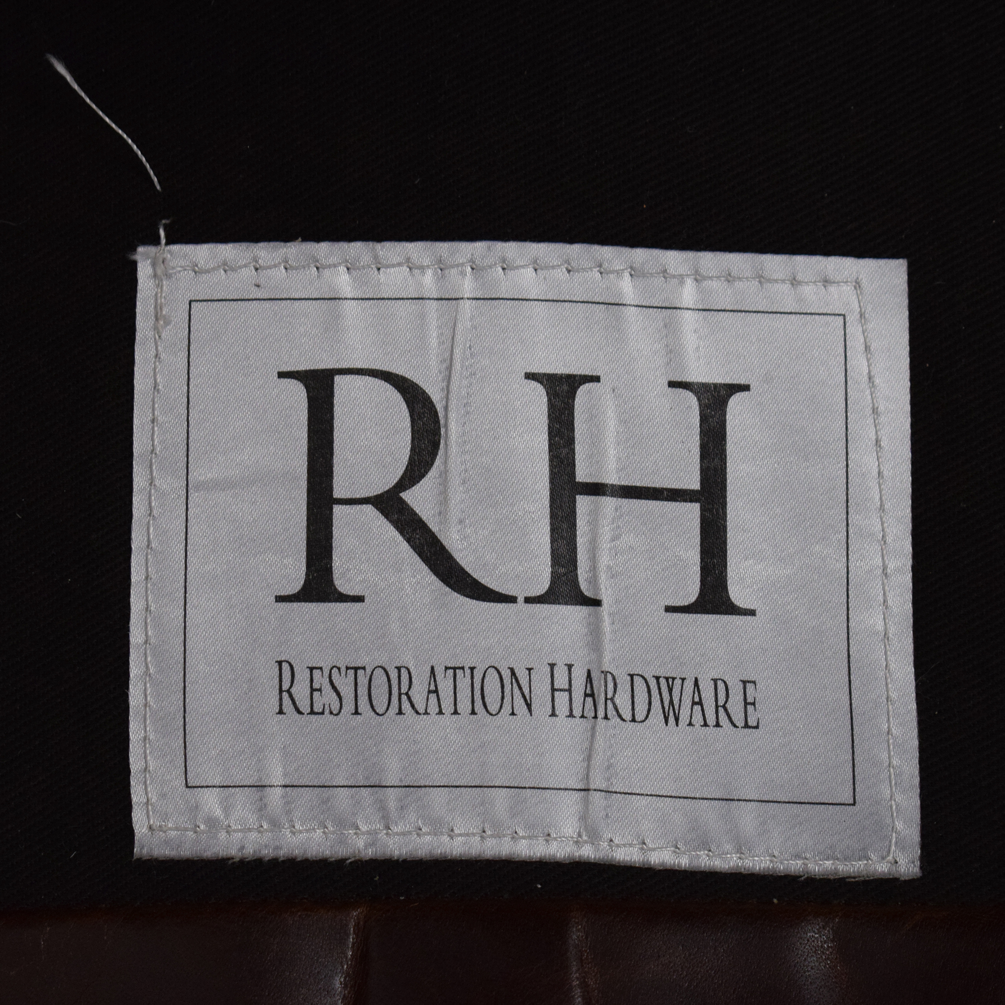 shop Restoration Hardware Restoration Hardware Petite Maxwell Chair and Ottoman online