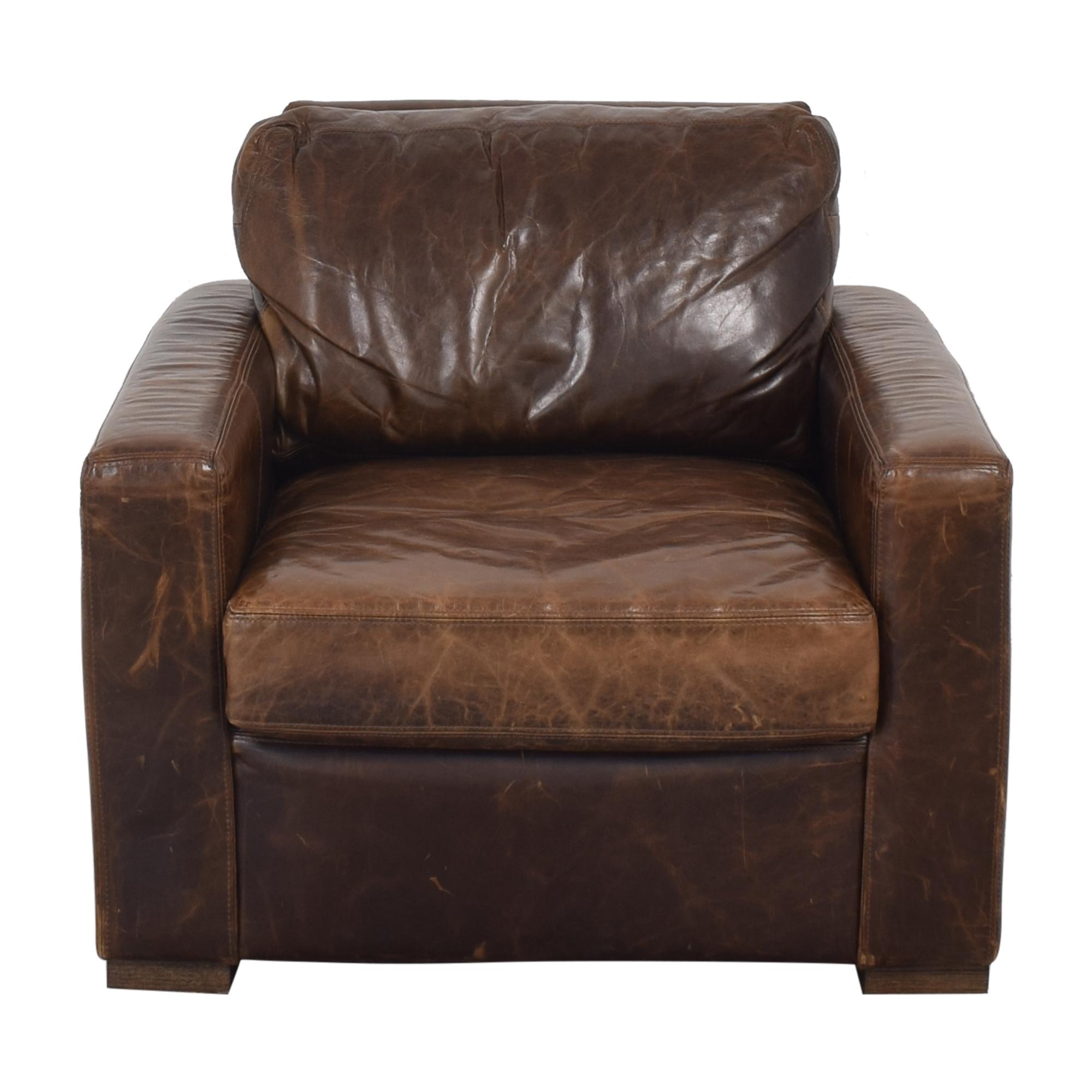 buy Restoration Hardware Petite Maxwell Chair and Ottoman Restoration Hardware Accent Chairs