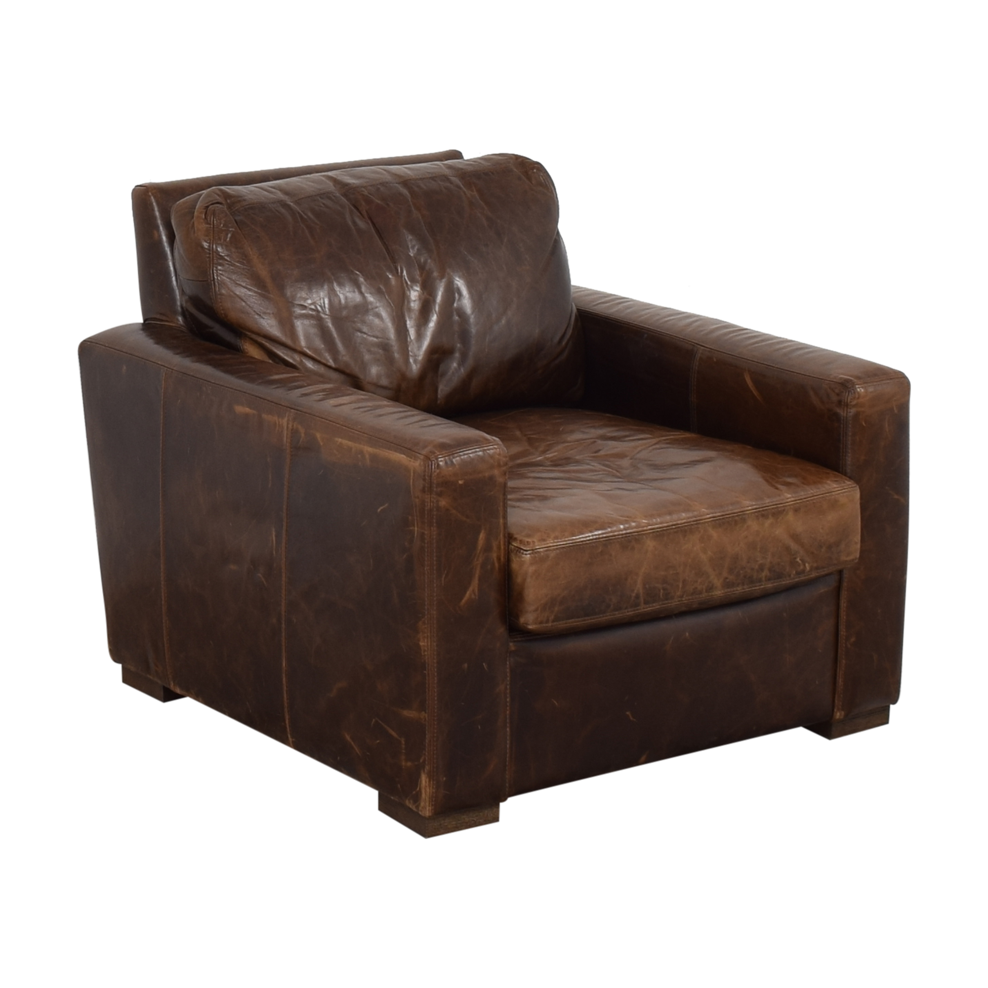 Restoration Hardware Restoration Hardware Petite Maxwell Chair and Ottoman Chairs
