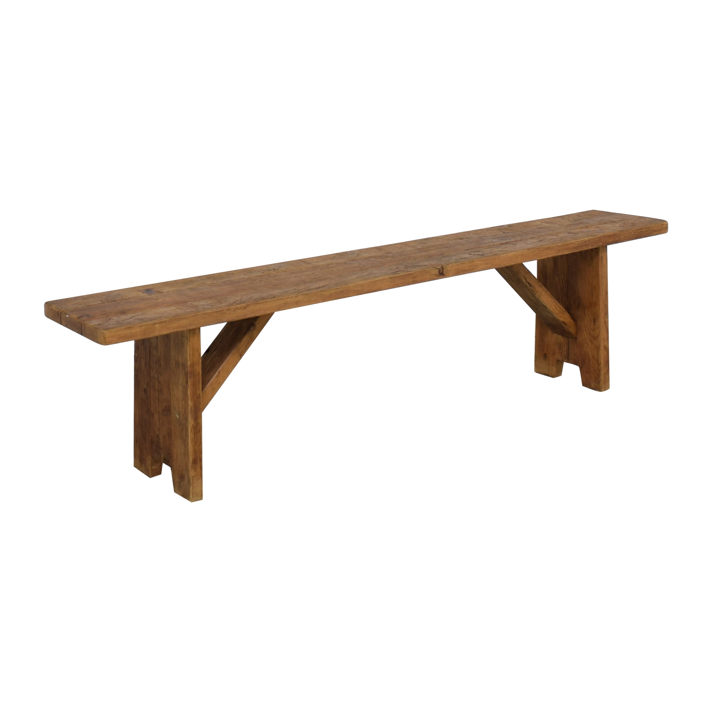 Restoration Hardware Restoration Hardware Barnwood Bench on sale