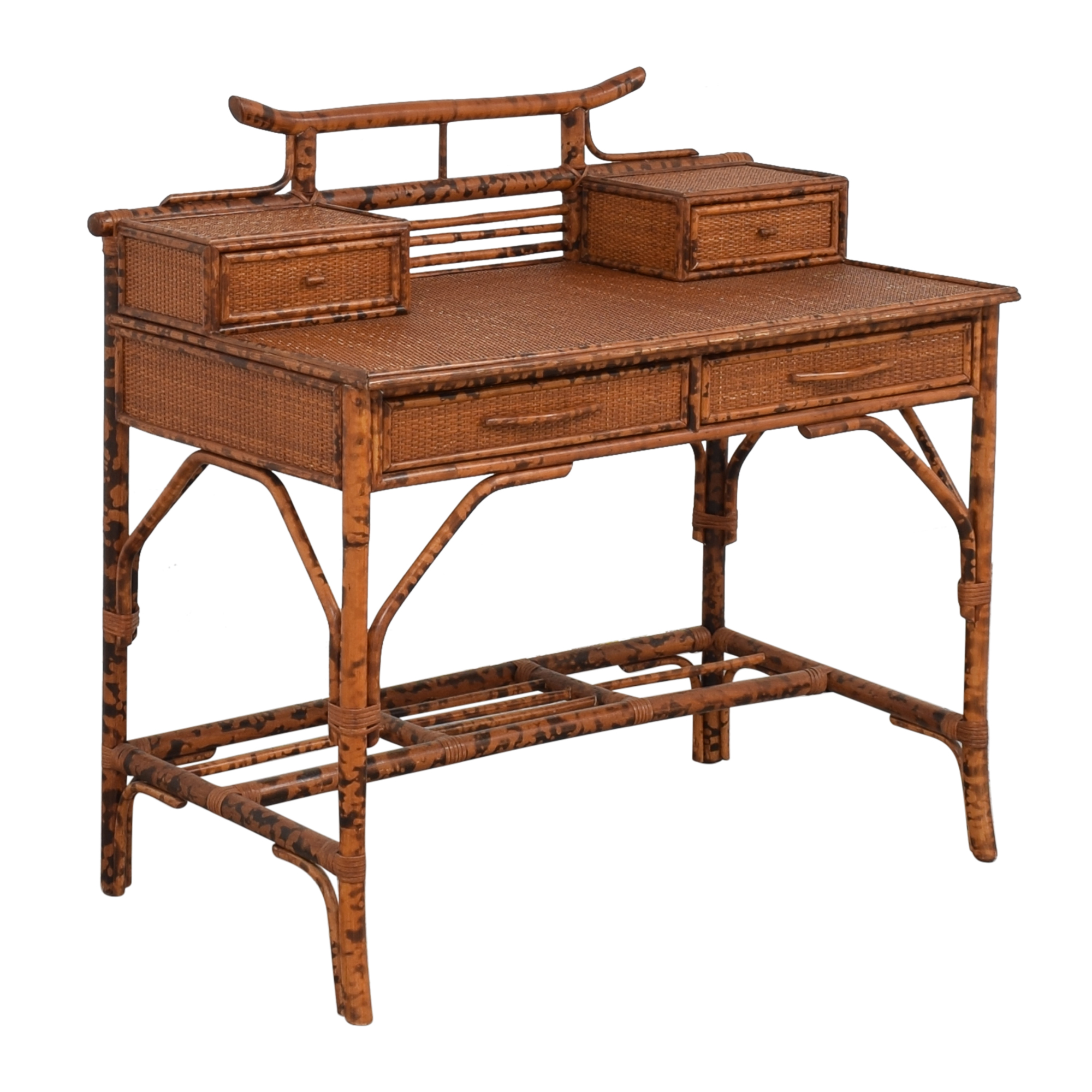 Bloomingdale's Chinoiserie Style Writing Desk / Home Office Desks