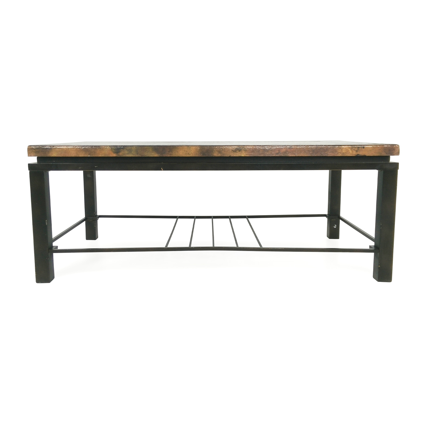 71 Off Unknown Brand Bronze Coffee Table Tables