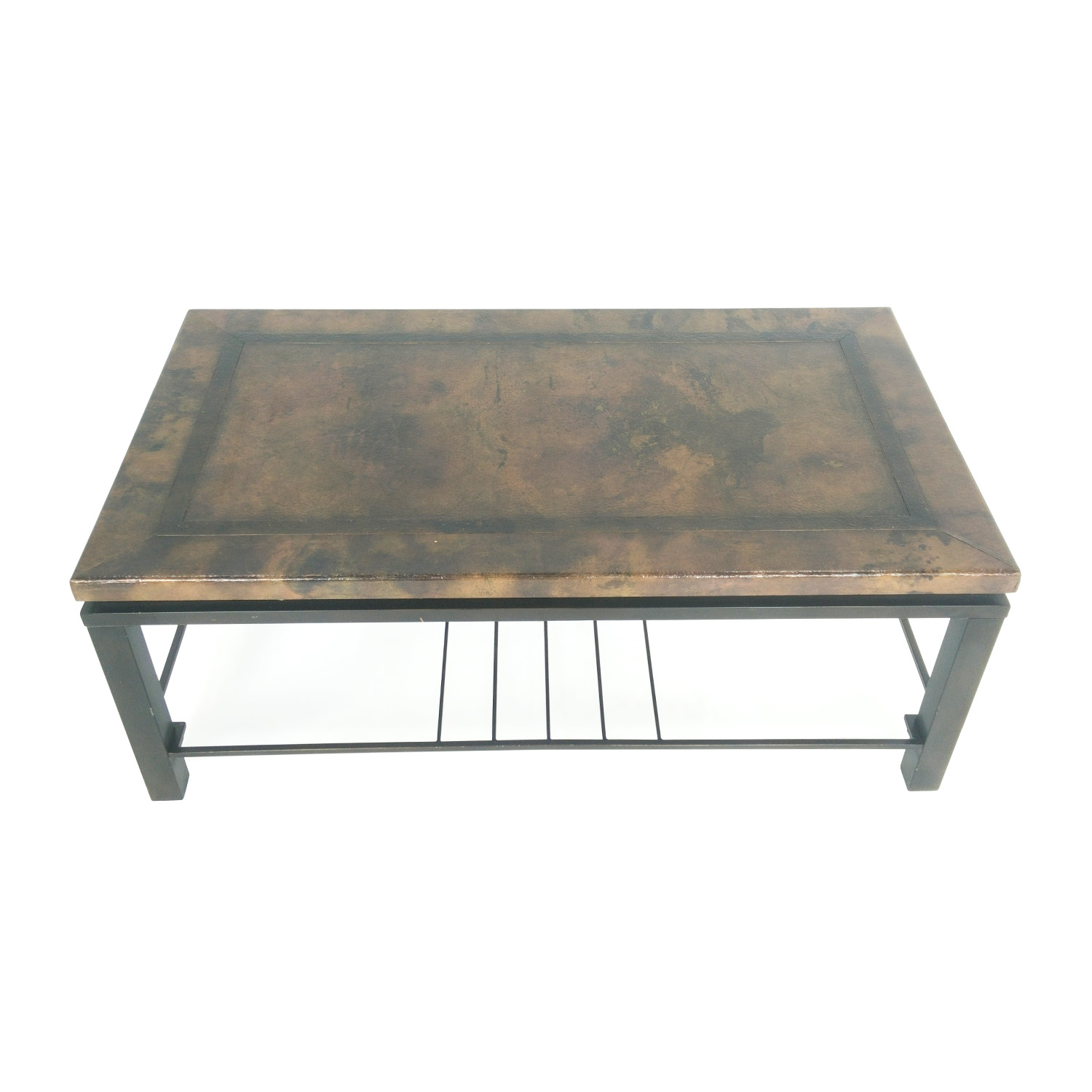 83 Off Vintage Ottoman Coffee Table With Storage Storage