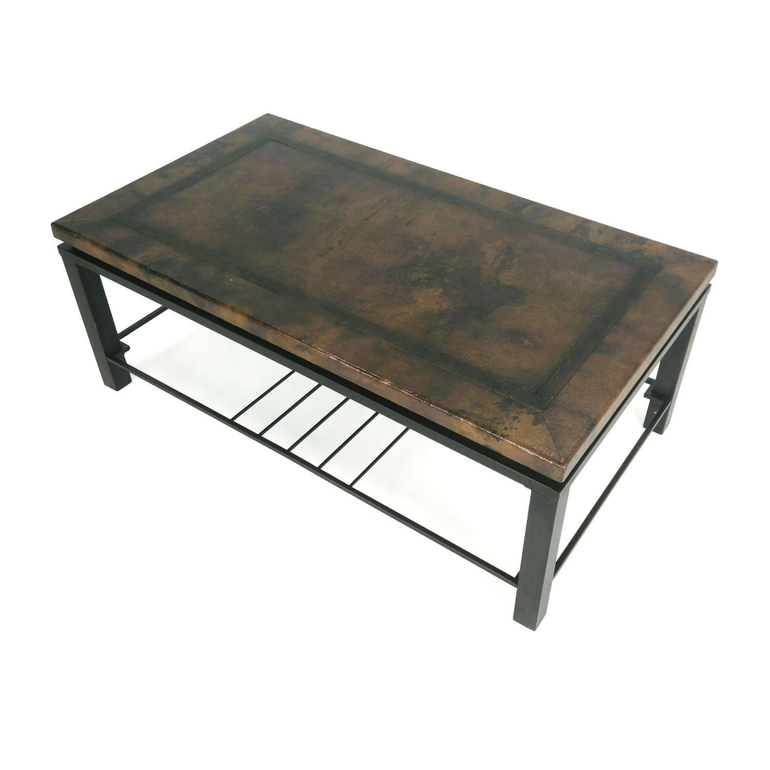 Bronze Coffee Table Nz: Unknown Brand Bronze Coffee Table / Tables