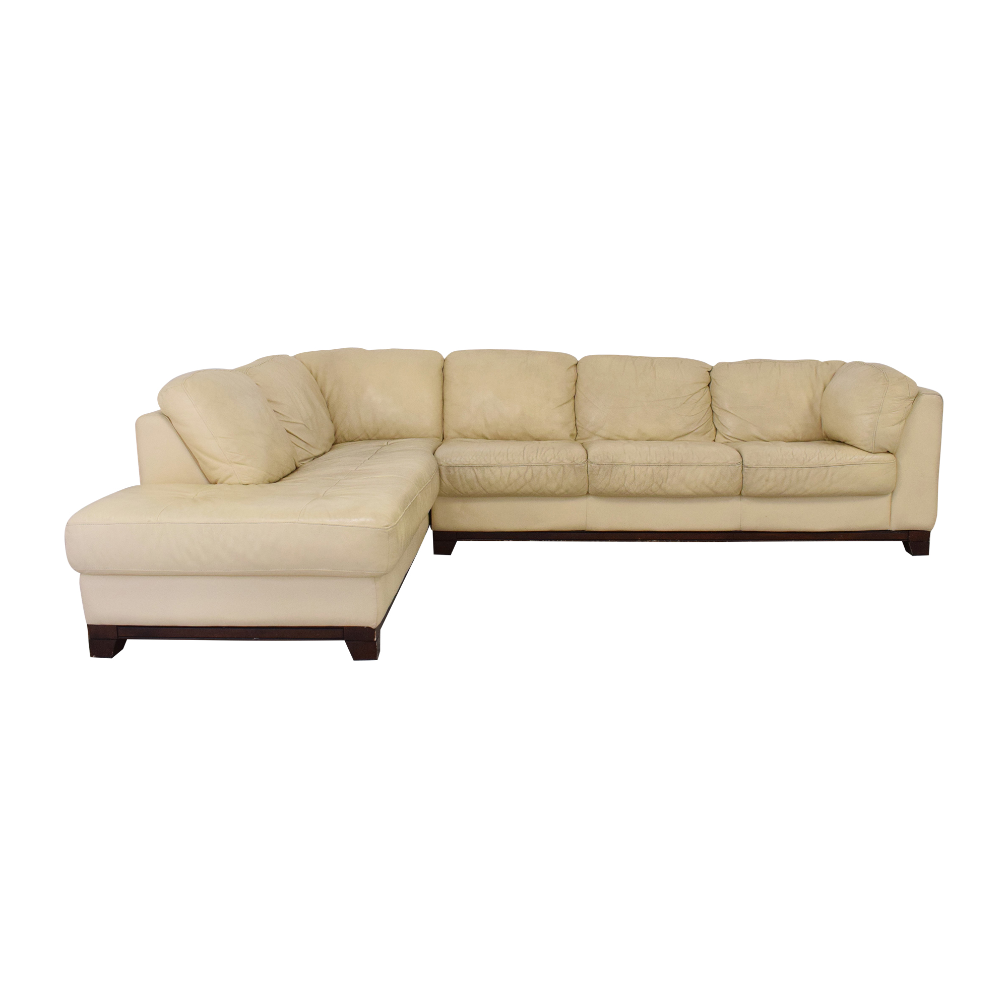 Superb Superb Sectional Sofa with Chaise second hand