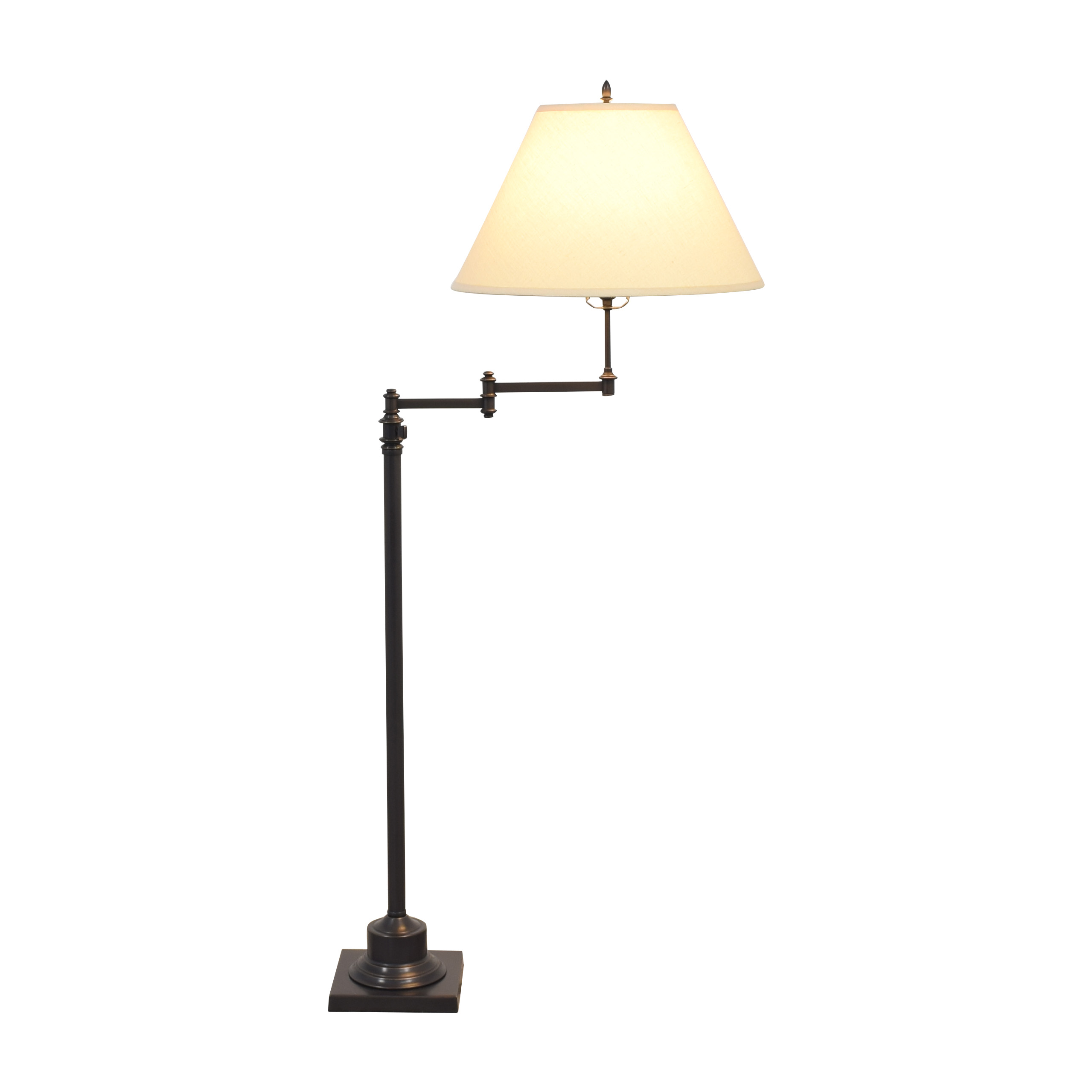 buy Restoration Hardware Library Swing-Arm Floor Lamp Restoration Hardware Lamps