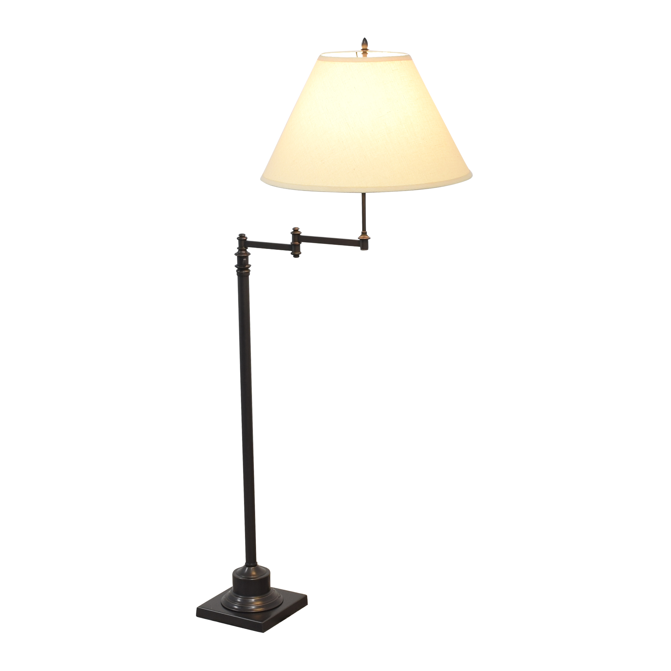 buy Restoration Hardware Library Swing-Arm Floor Lamp Restoration Hardware