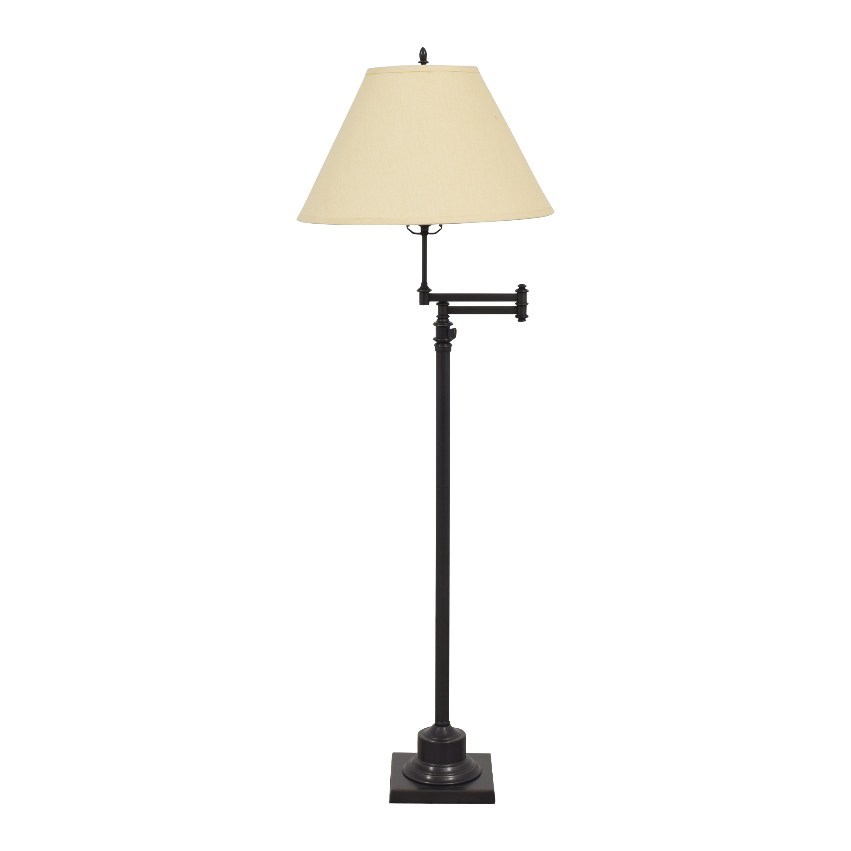 shop Restoration Hardware Library Swing-Arm Floor Lamp Restoration Hardware Lamps