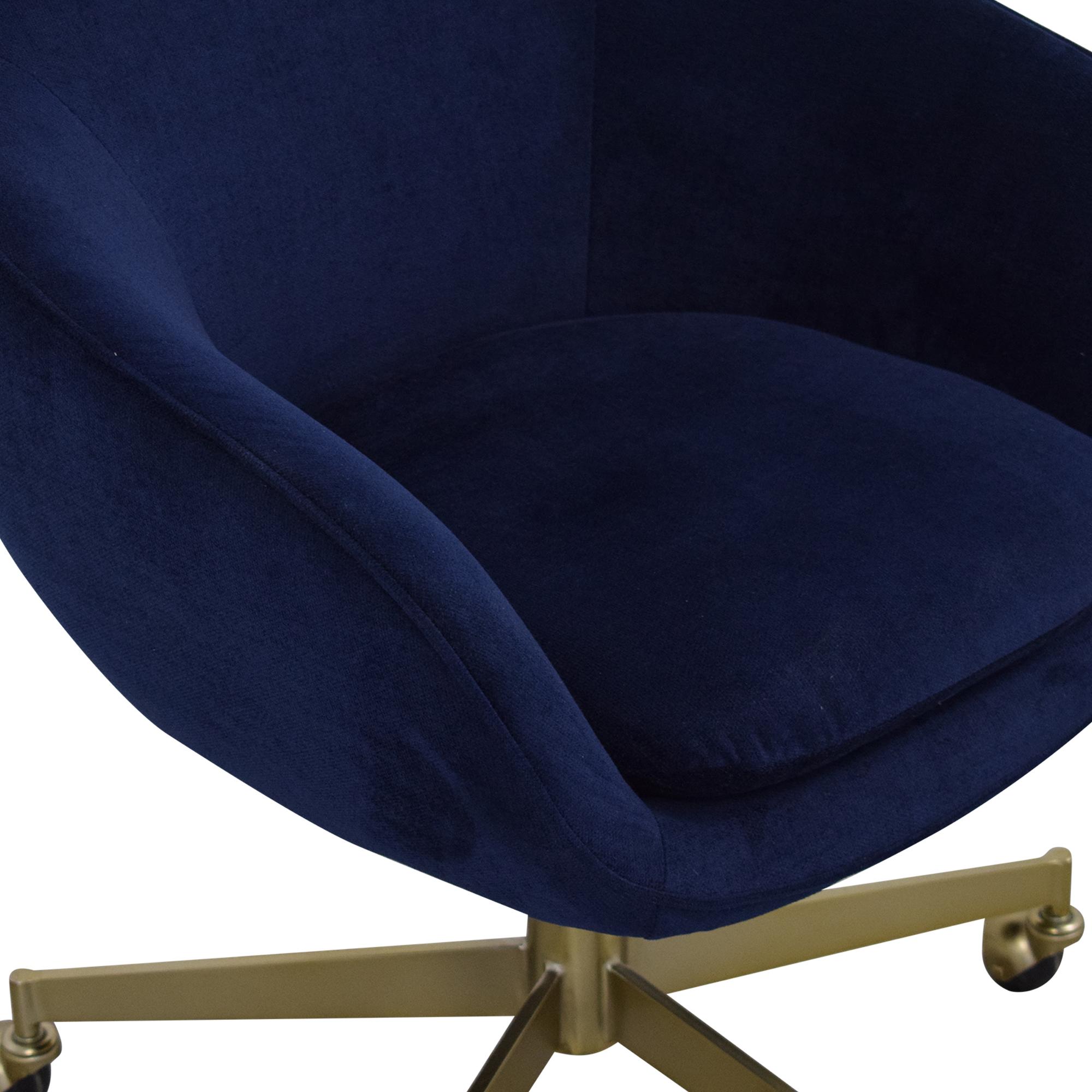 shop West Elm Alys Swivel Office Chair West Elm Chairs
