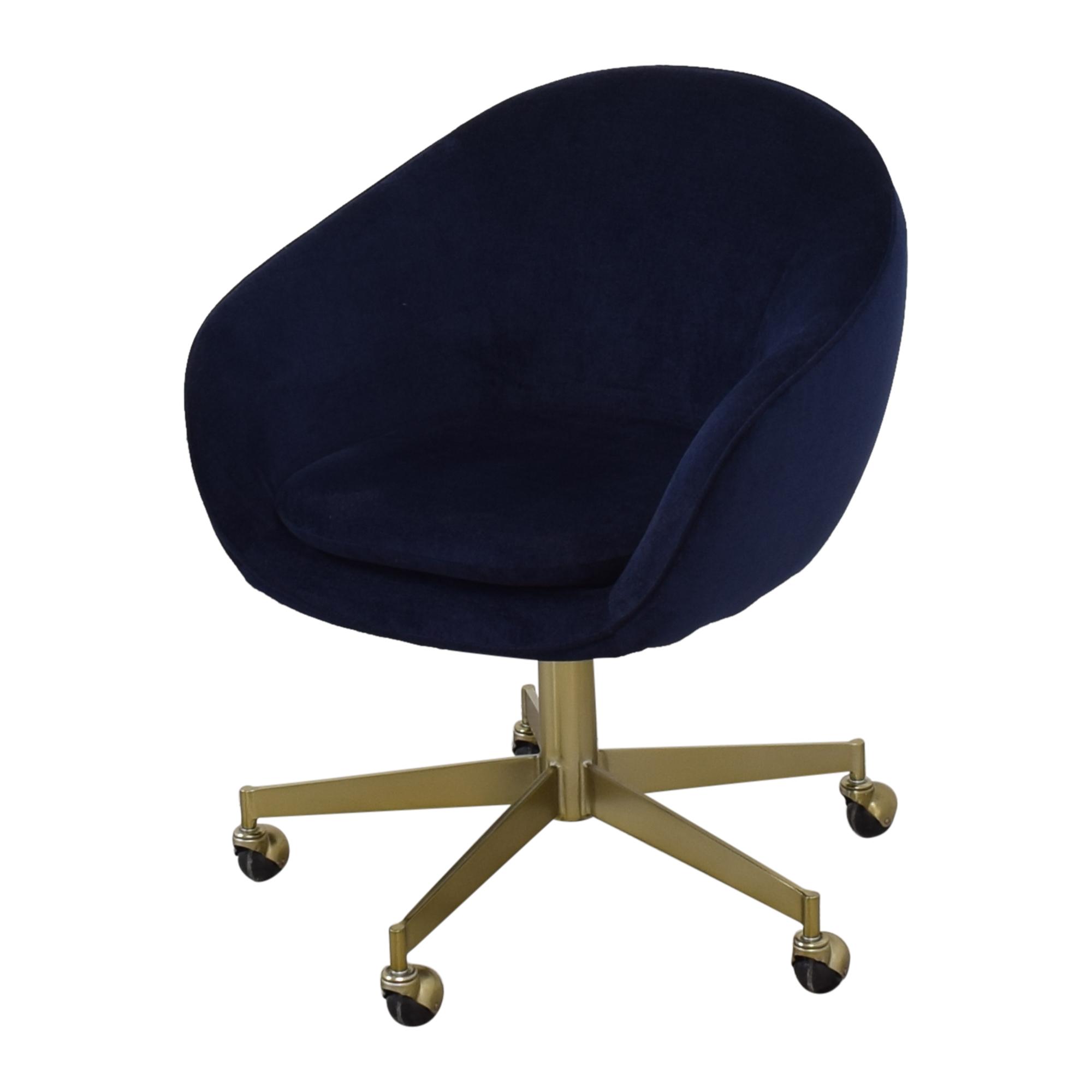 West Elm Alys Swivel Office Chair sale
