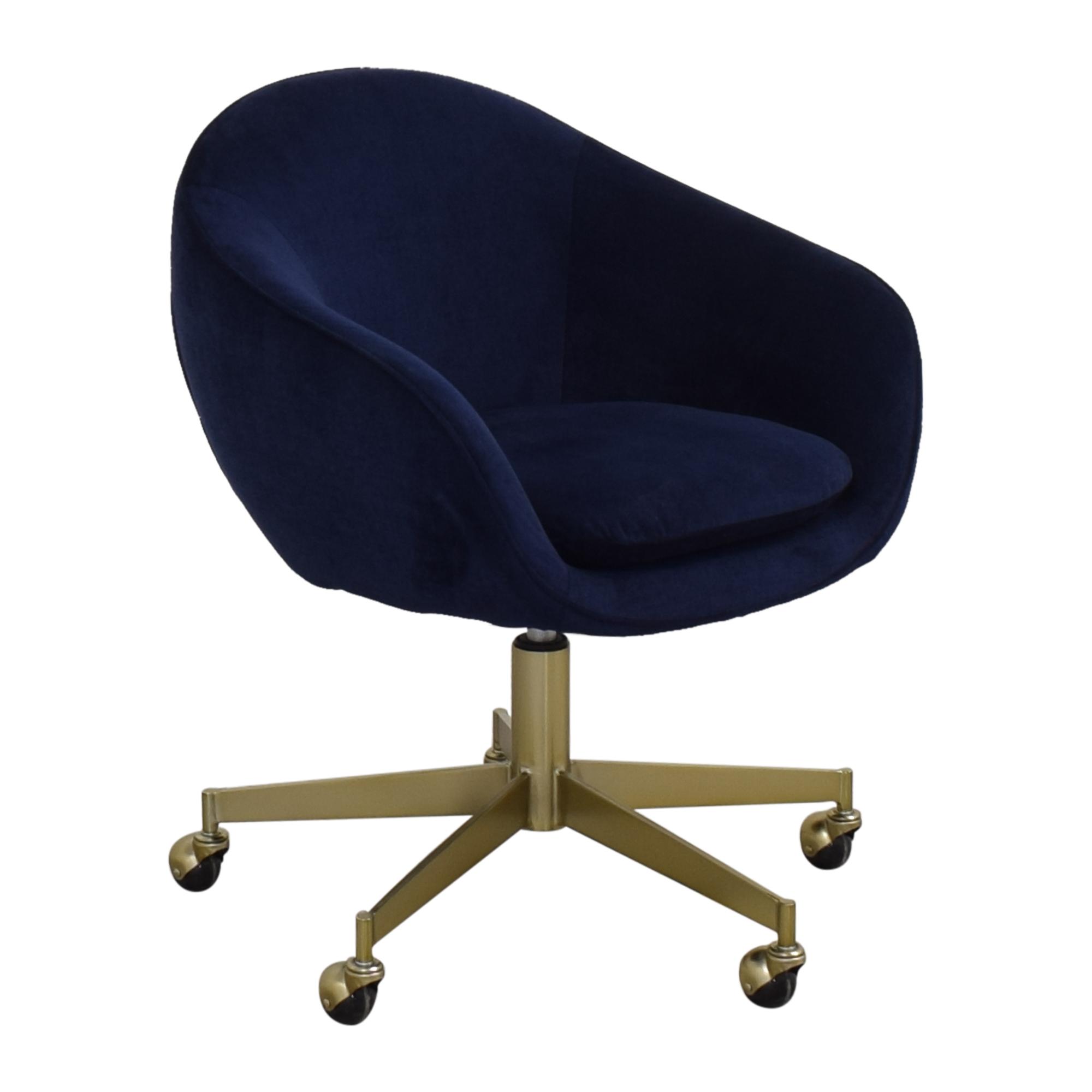 West Elm West Elm Alys Swivel Office Chair second hand