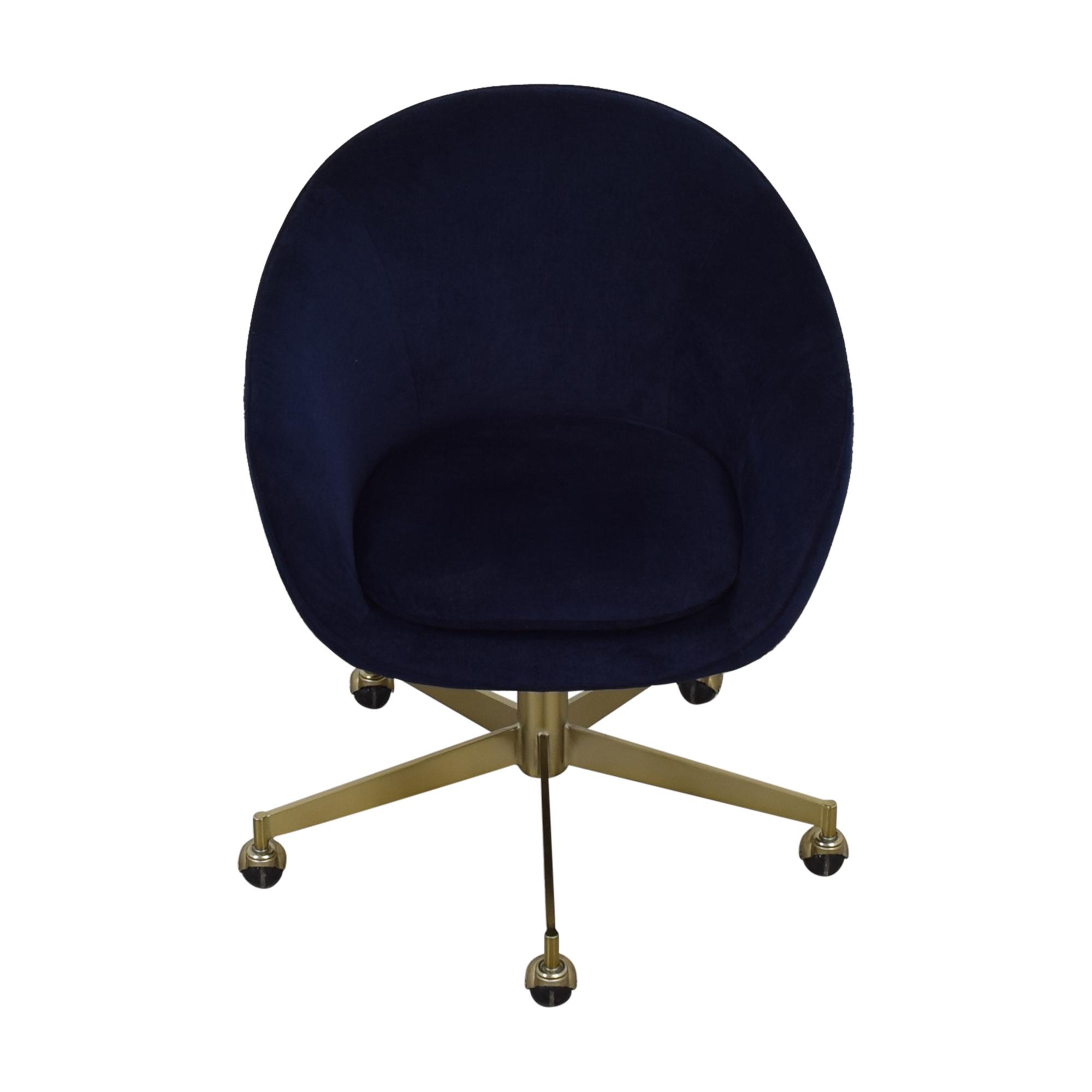 West Elm West Elm Alys Swivel Office Chair used