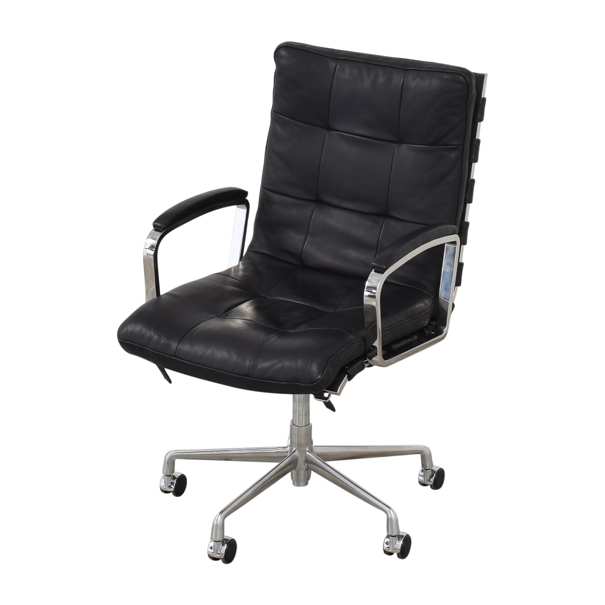 Restoration Hardware Restoration Hardware Rossi Desk Chair dimensions