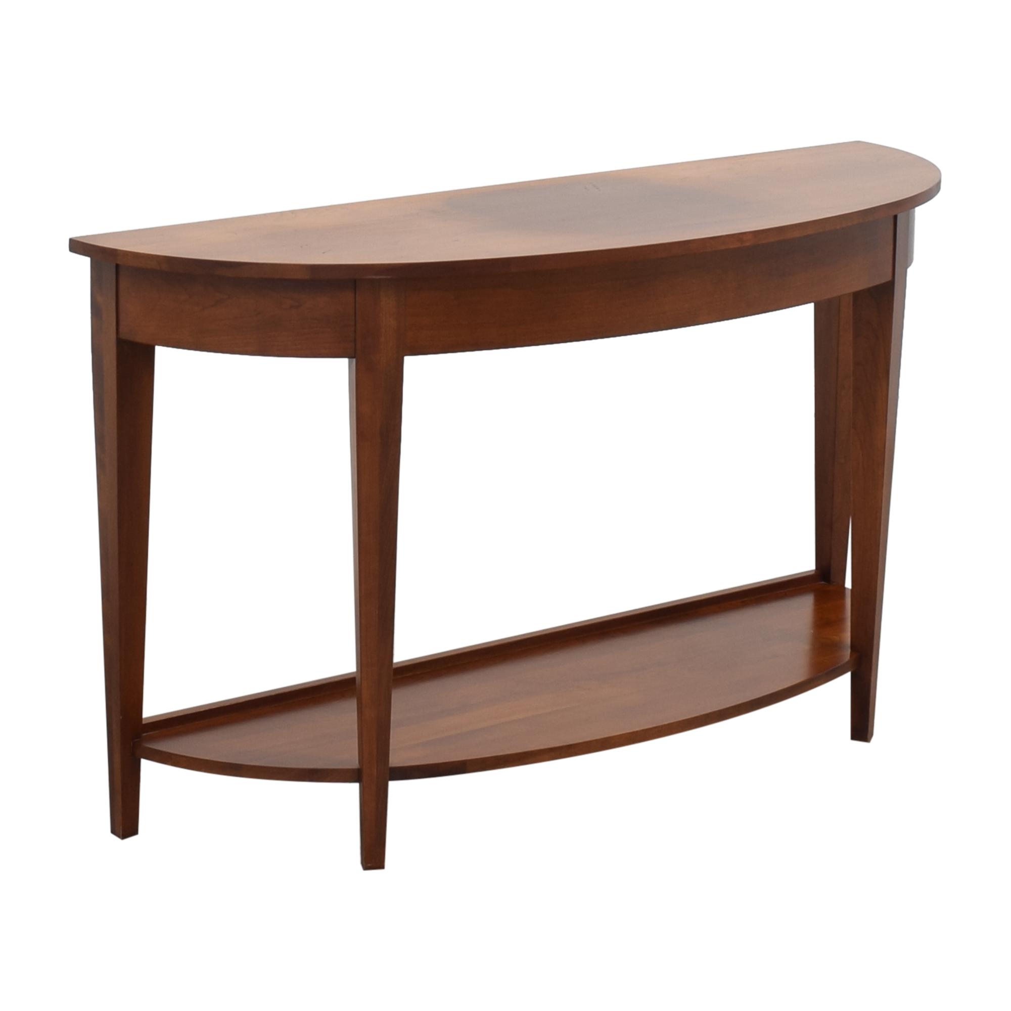 Ethan Allen Ethan Allen American Impressions Demilune Sofa Table pa